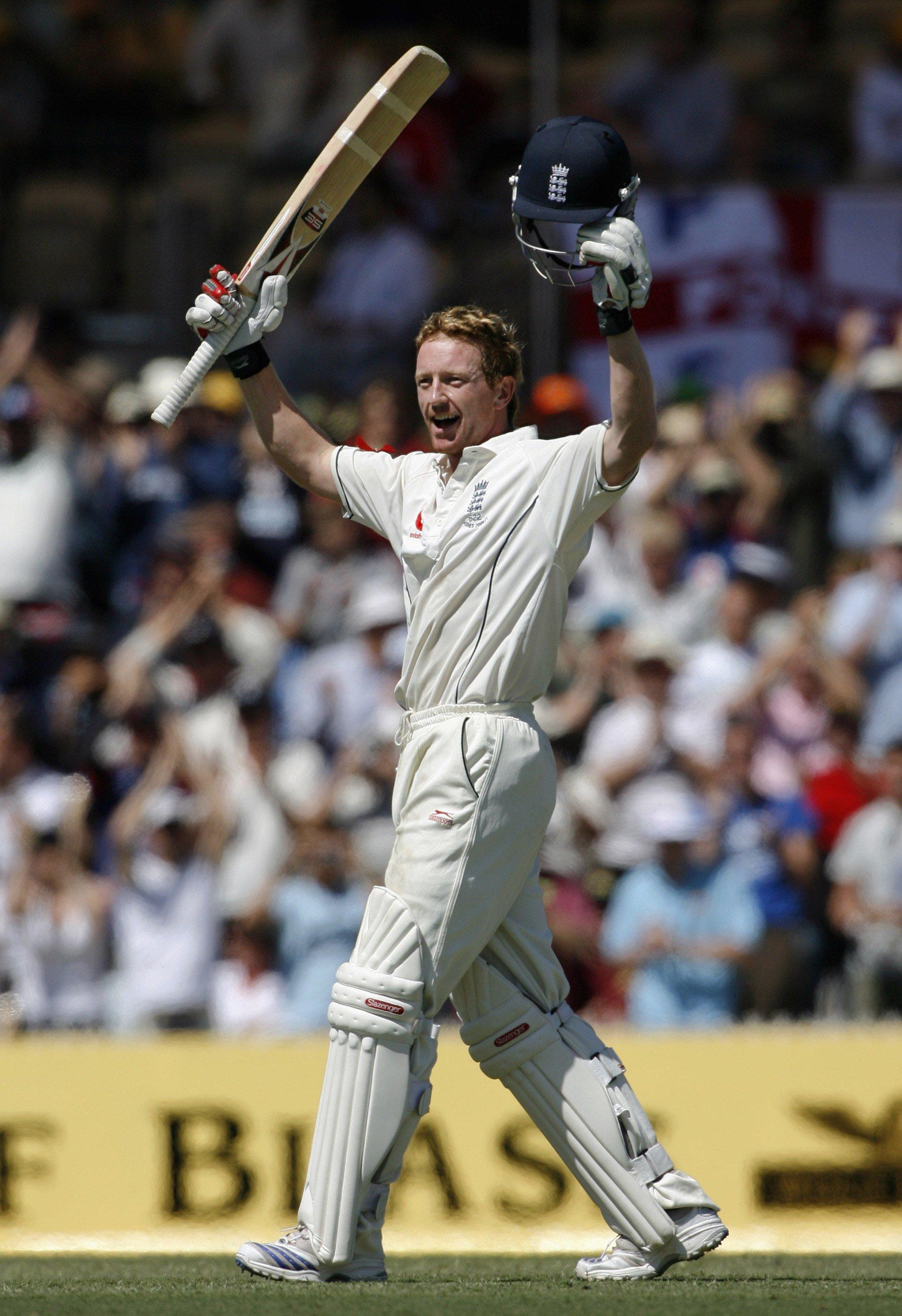 Paul Collingwood scored a glorious double-ton in the 2006-07 Ashes