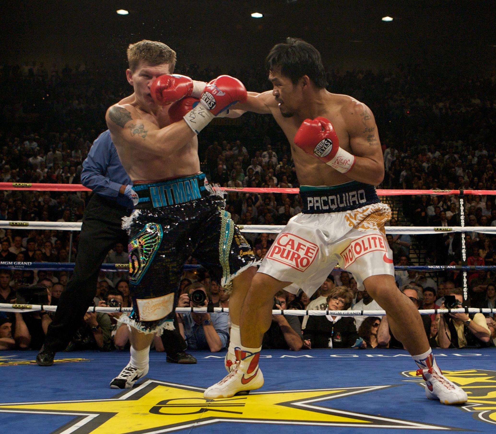 The 39-year-old's defeat to Manny Pacquiao in 2009 saw him enter a downward spiral