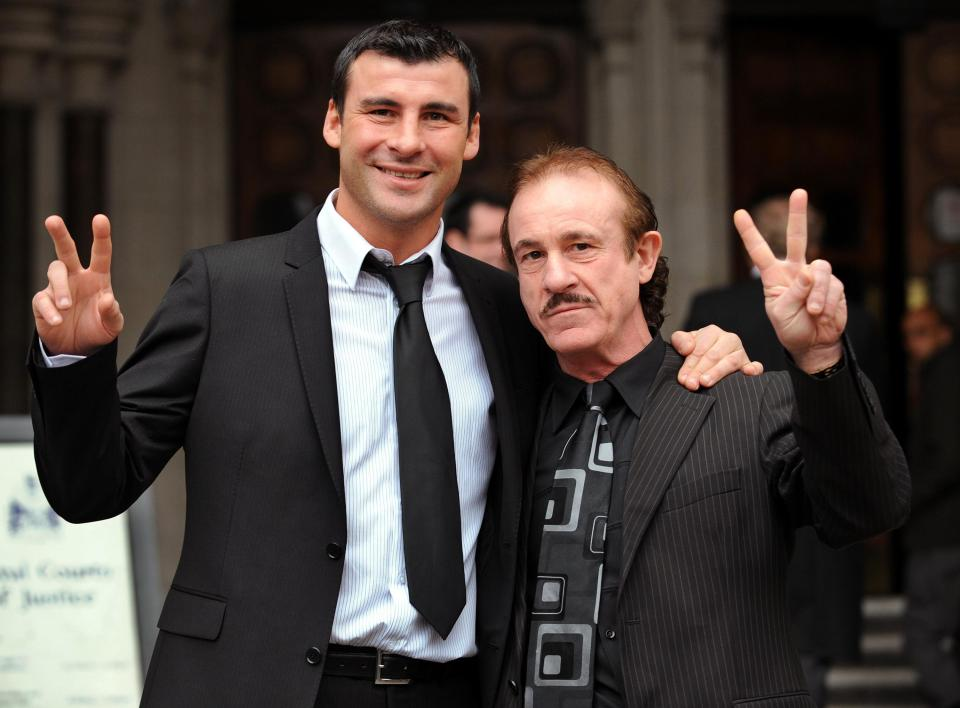Calzaghe trained son Joe throughout his career and helped him to a 46-0 professional record