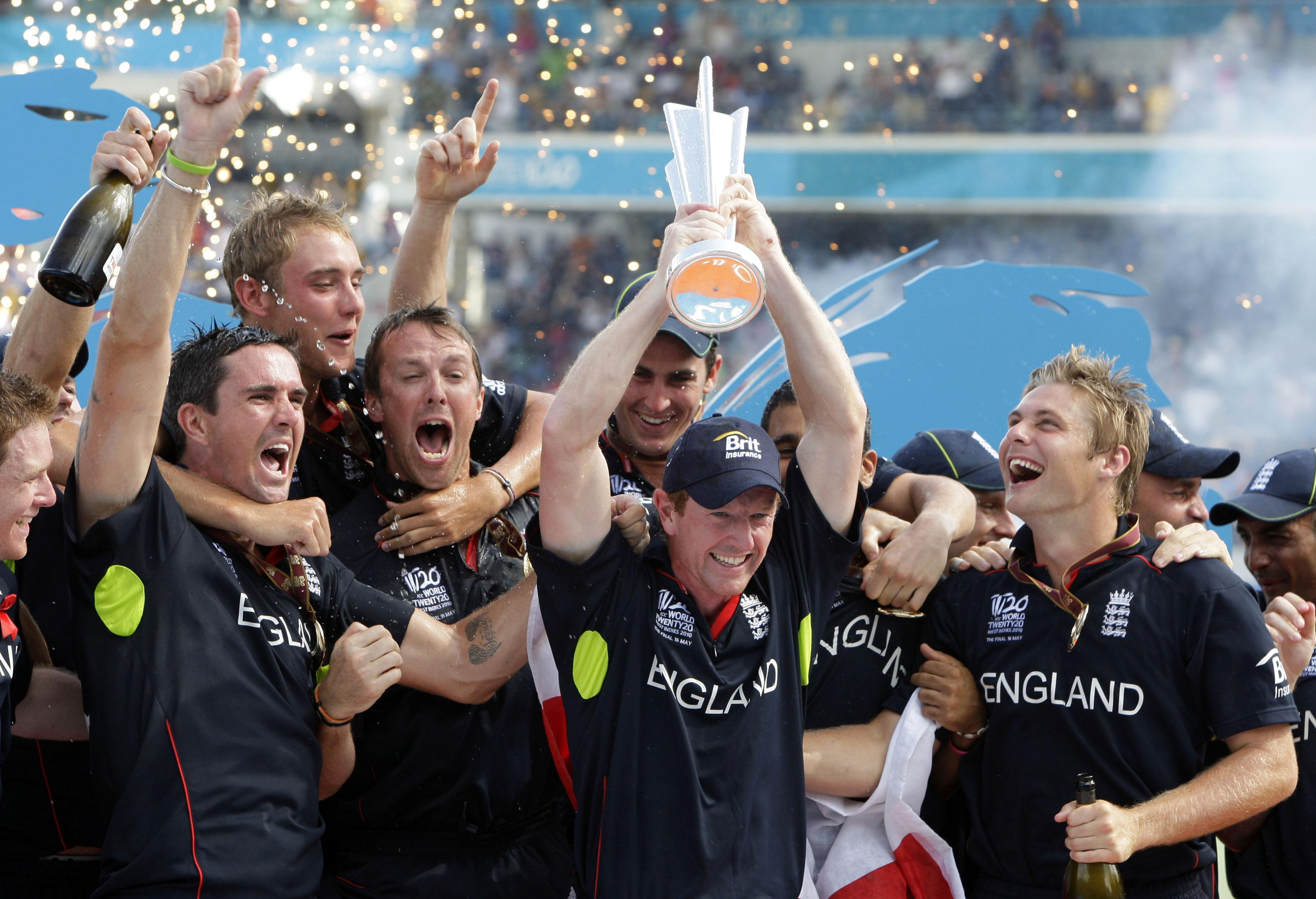 Paul Collingwood is the only player to lead England to World Cup glory
