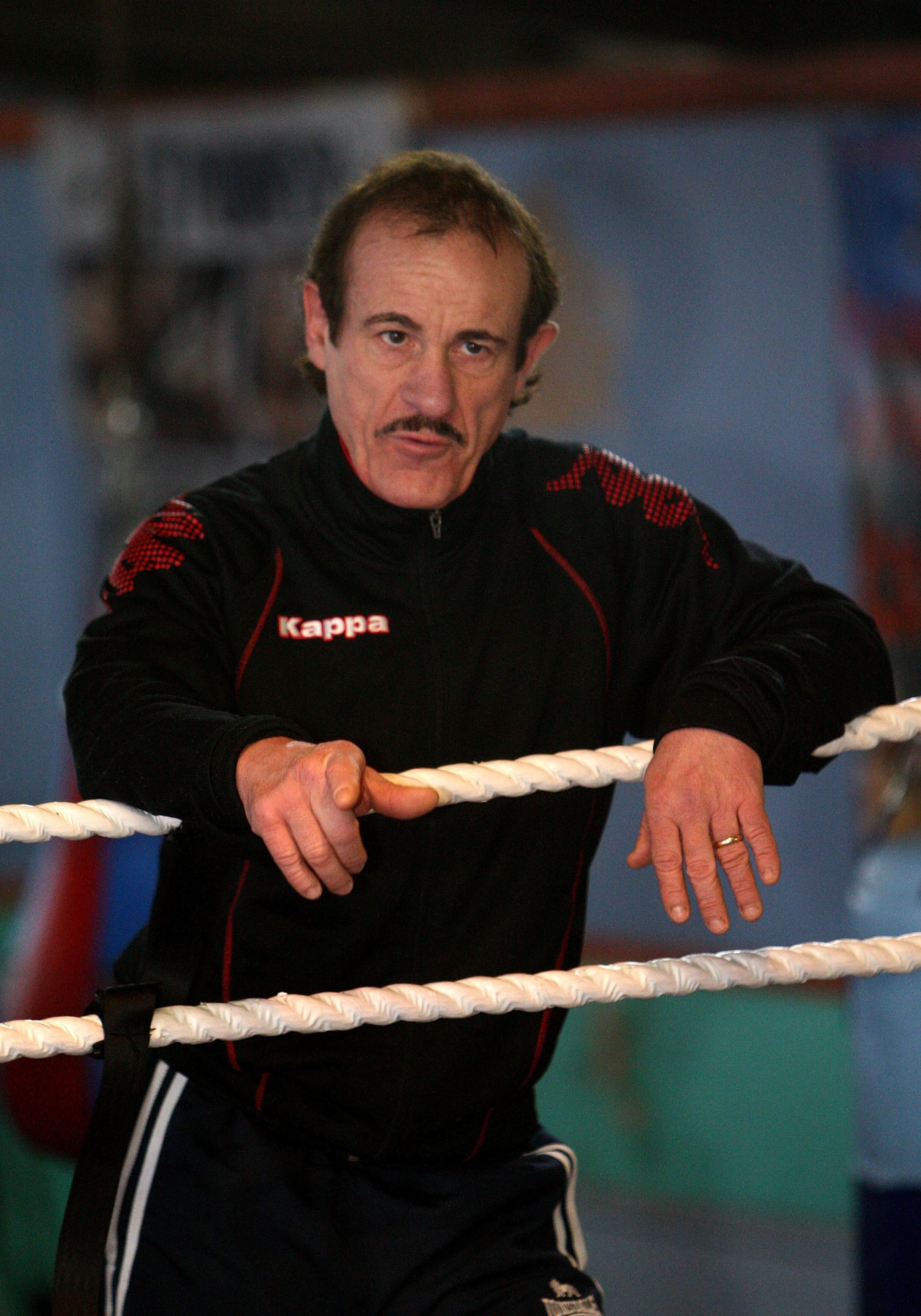 Enzo Calzaghe trained son Joe as well as some other huge names in boxing