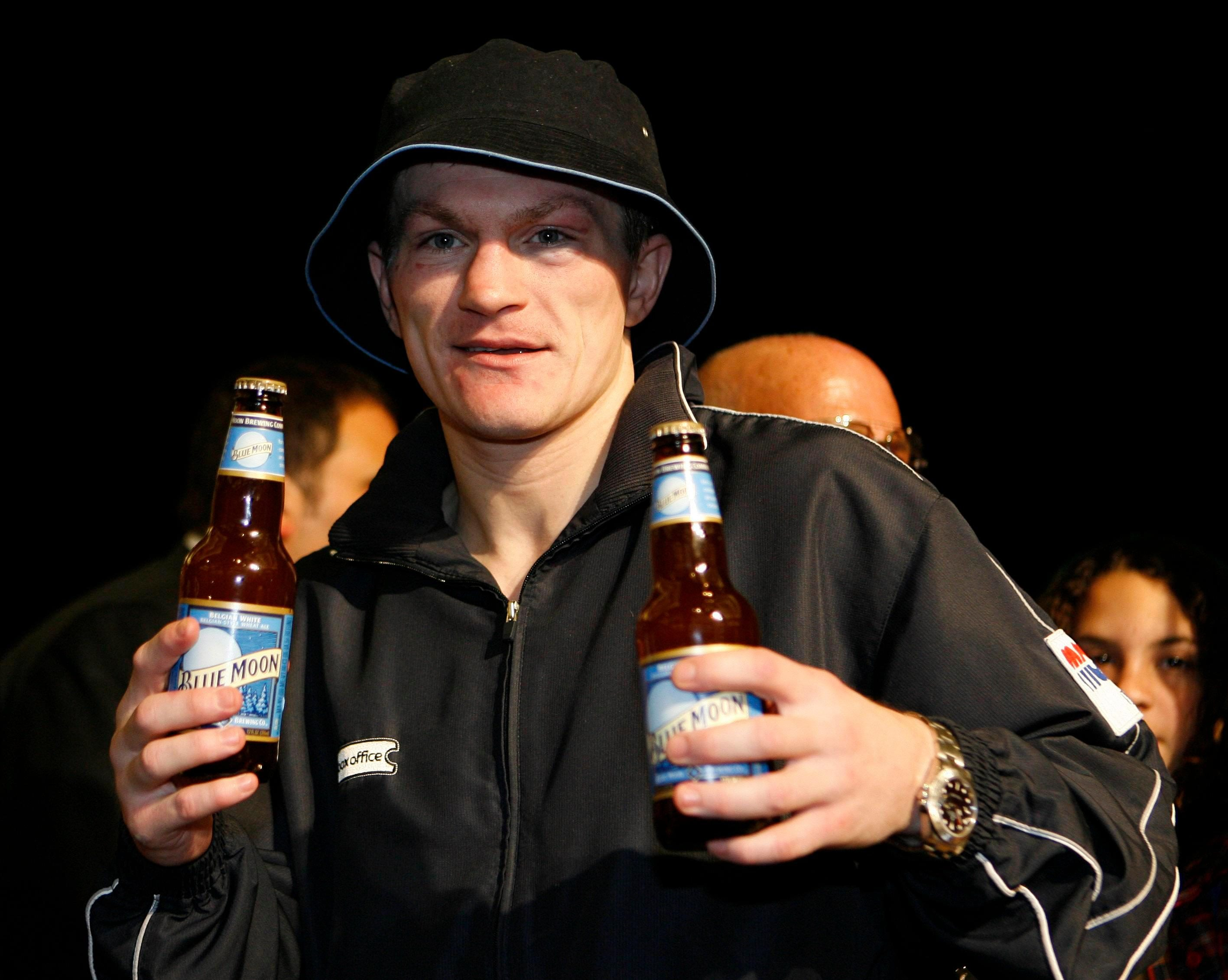After bottling slashing his wrists, Hatton admits he tried to drink himself to death