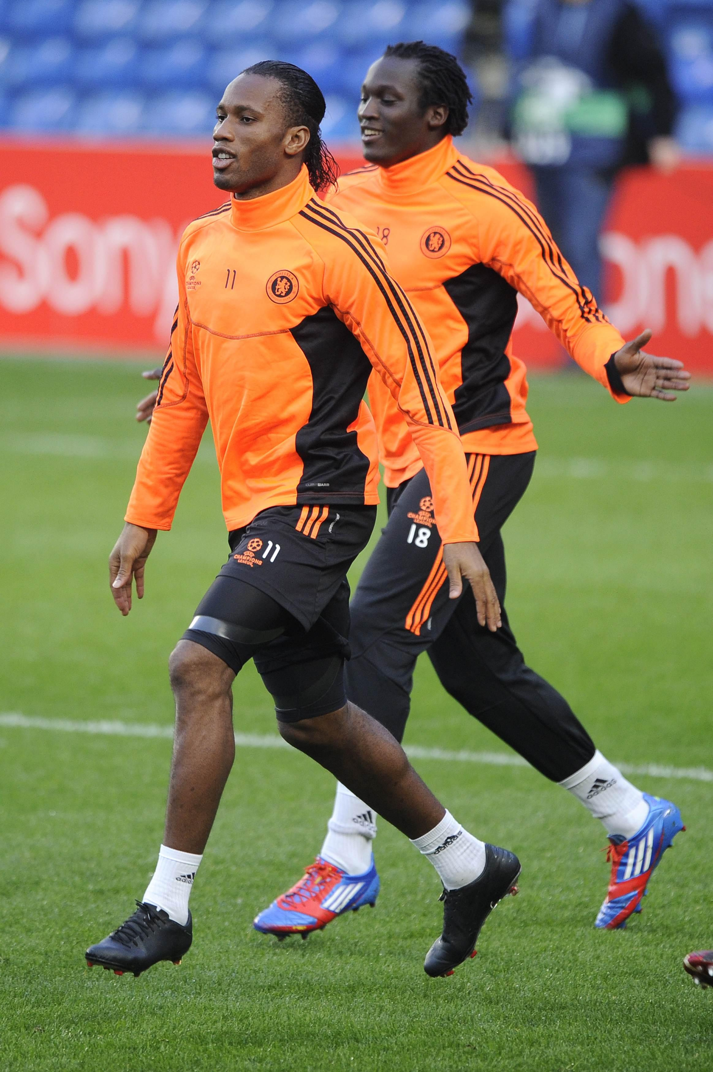 Drogba and Lukaku built up a close relationship while they played together at Chelsea