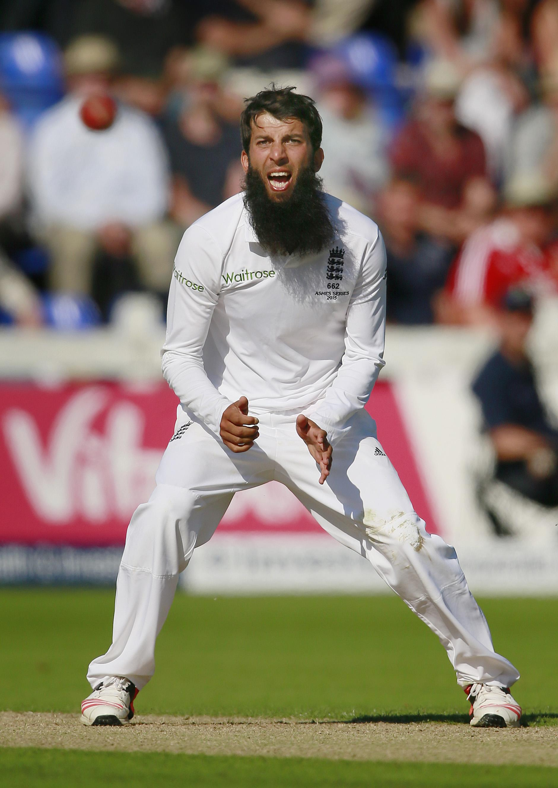 Moeen was allegedly called 'Osama' during the 2015 Ashes first Test