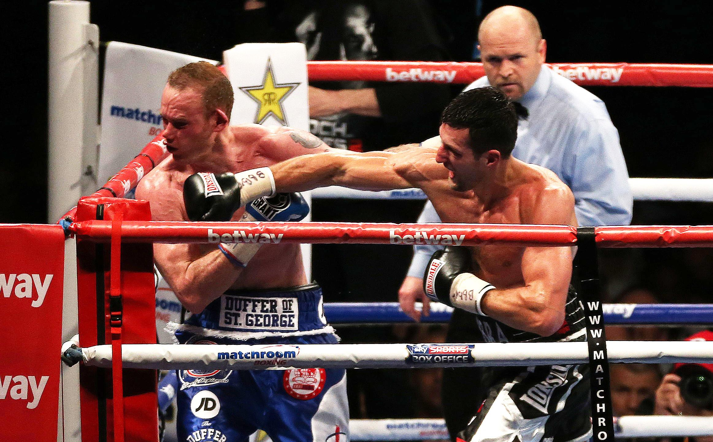 Groves, 30, suffered a brutal knockout at the hands of Carl Froch at Wembley in 2014