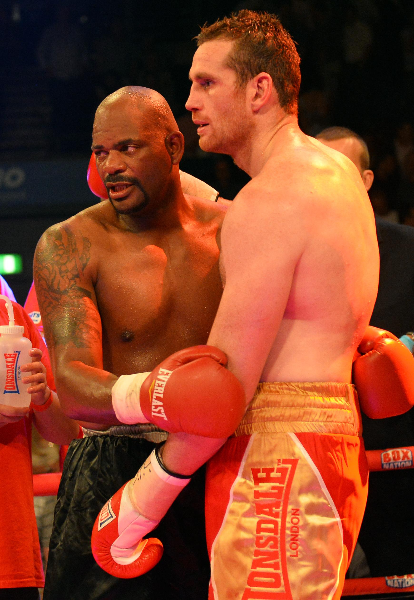 Former nemesis Tony Thompson consoles David Price after devastating KO defeat in rematch