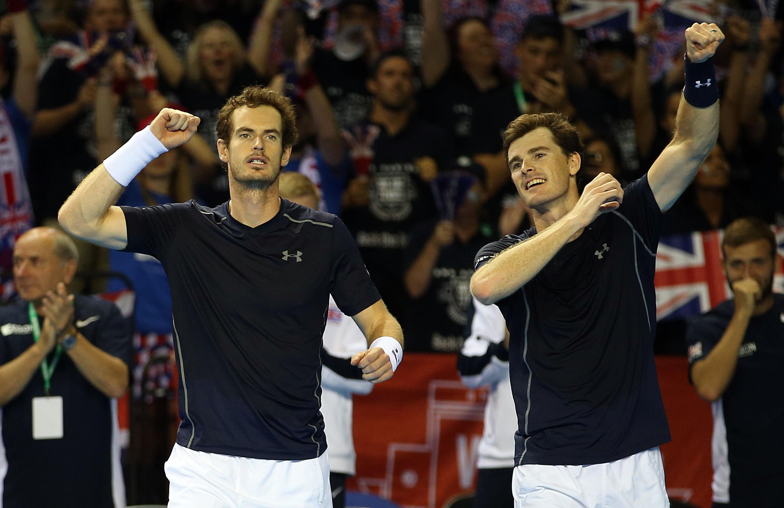 Murray has always received brilliant support in his home nation but misses this month's tie with injury
