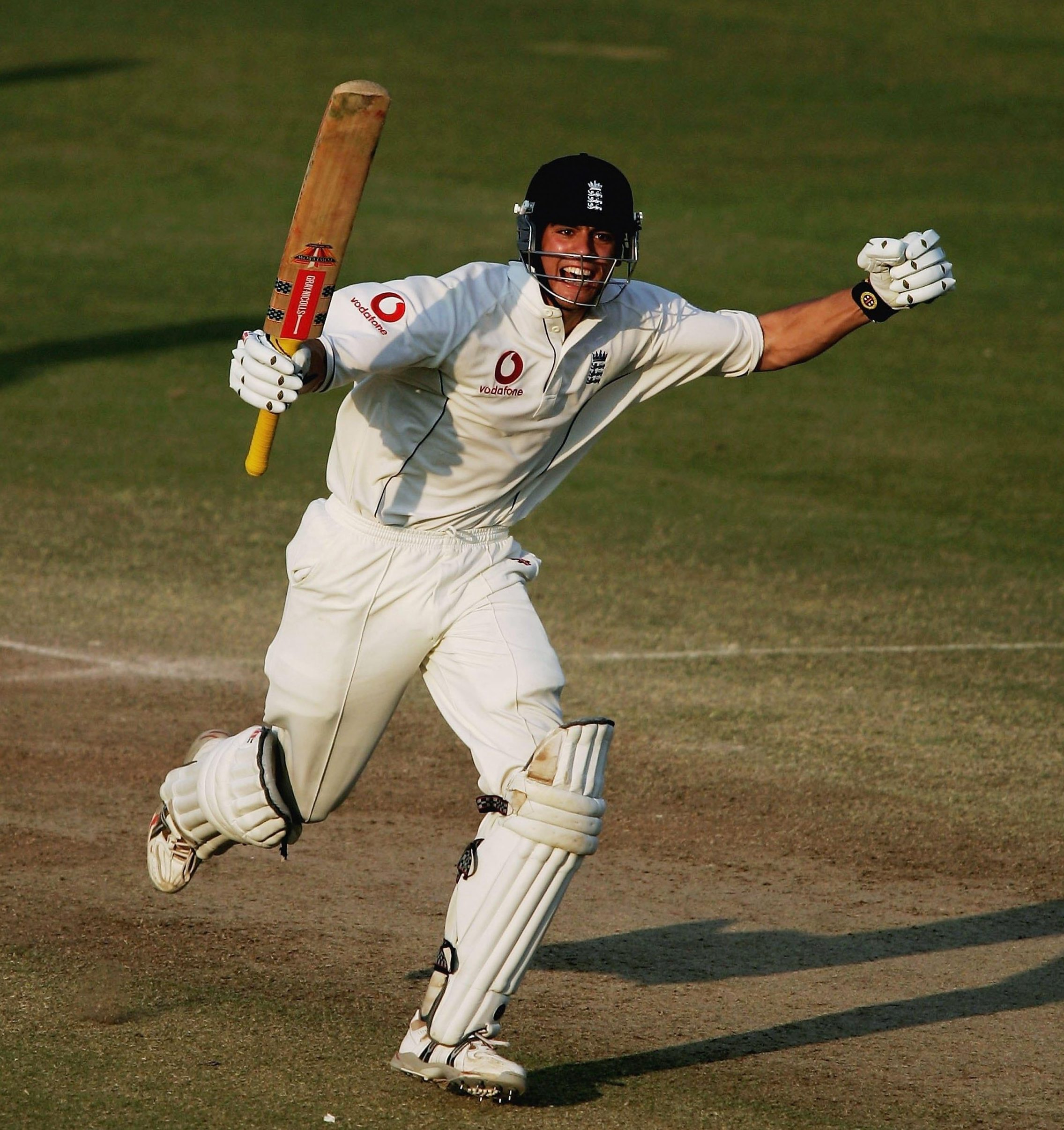 Alastair Cook has been an England Test team ever-present for 12 years