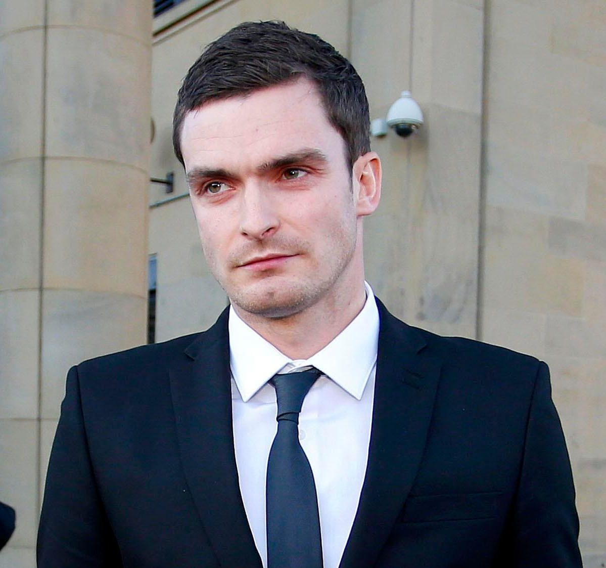 Adam Johnson hopes to return to football on his release