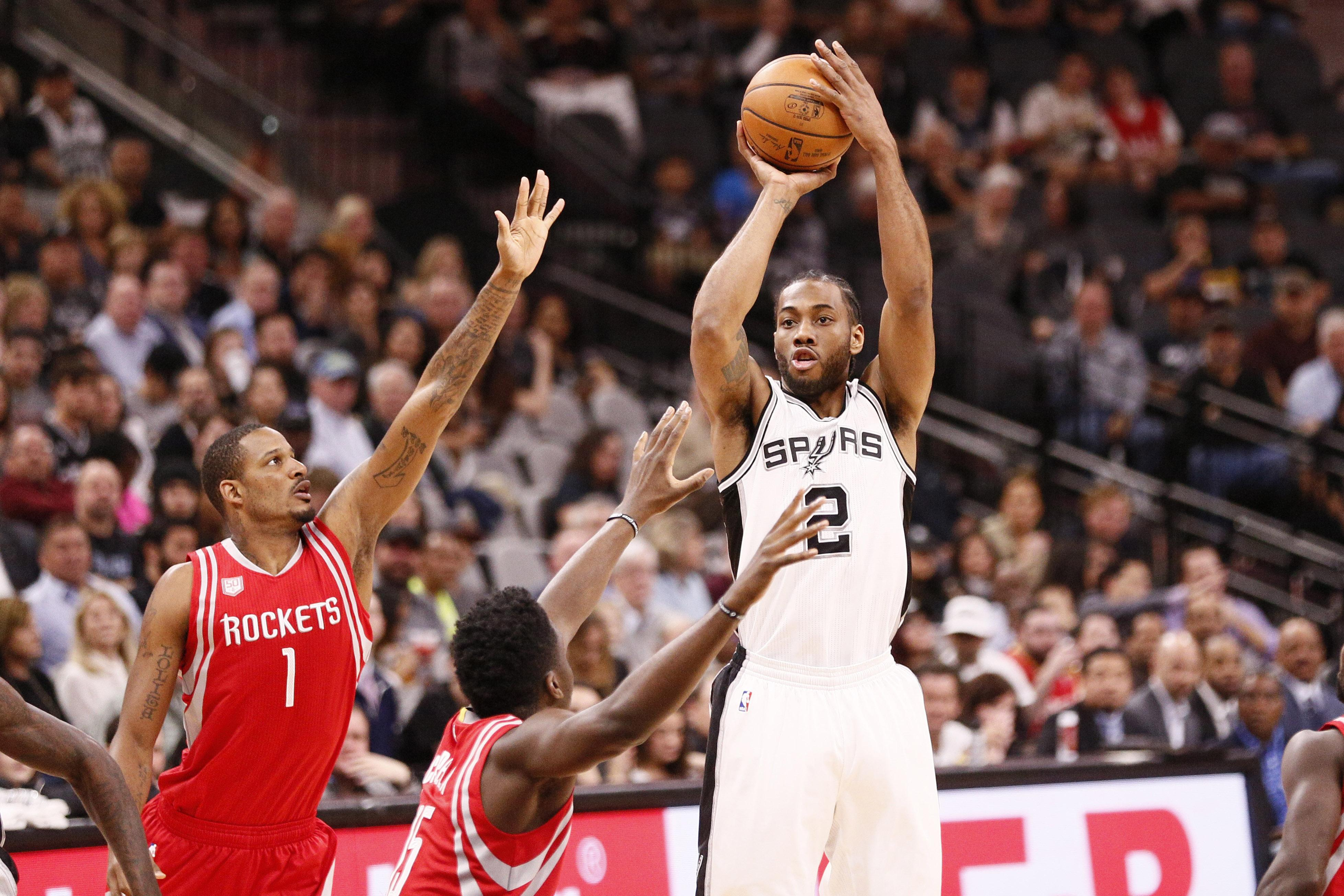 Kawhi Leonard was traded to the Toronto Raptors over the summer - with the Eastern Conference now wide open