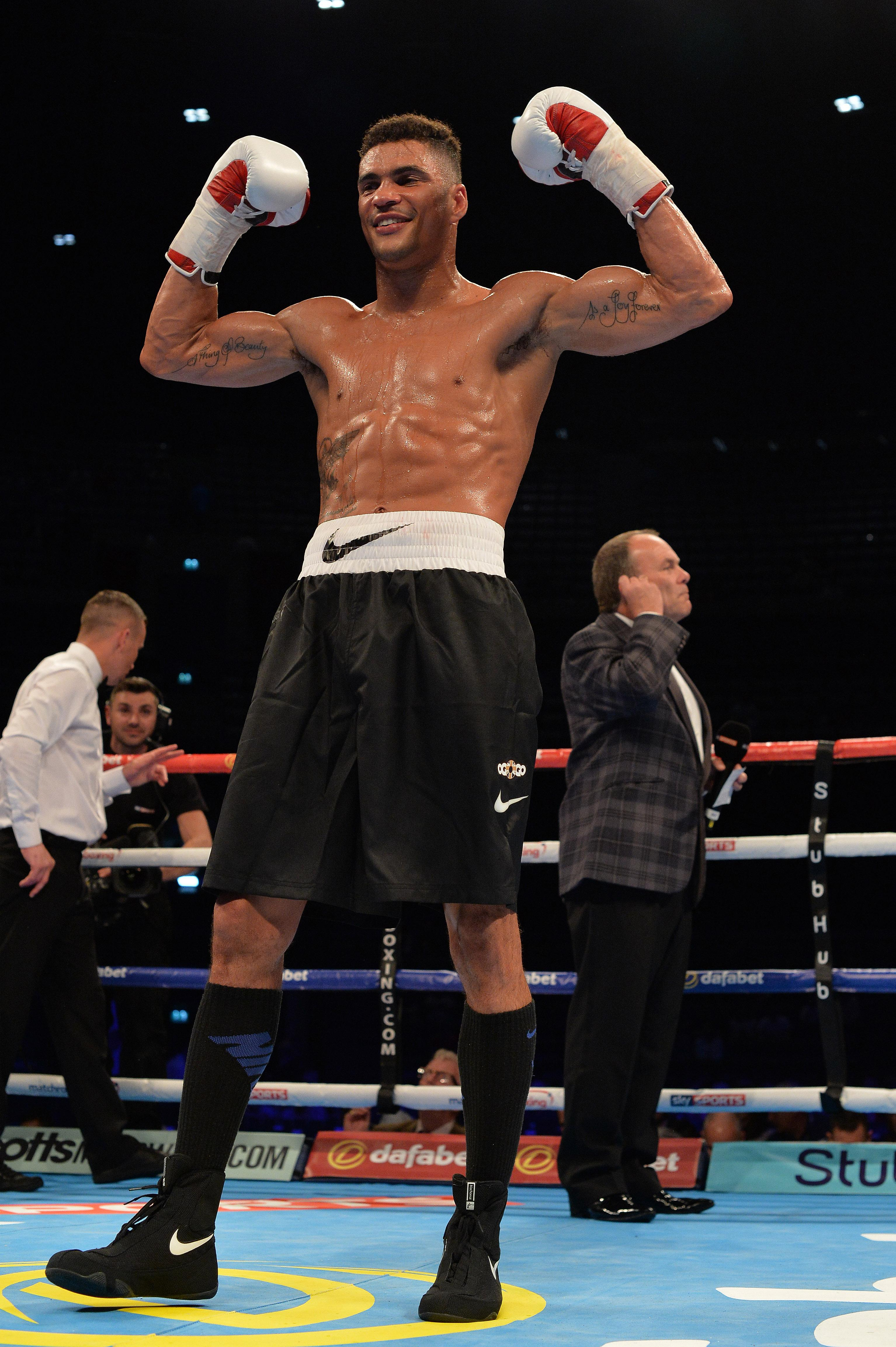 Anthony Ogogo won a Bronze medal at the 2012 Olympic games
