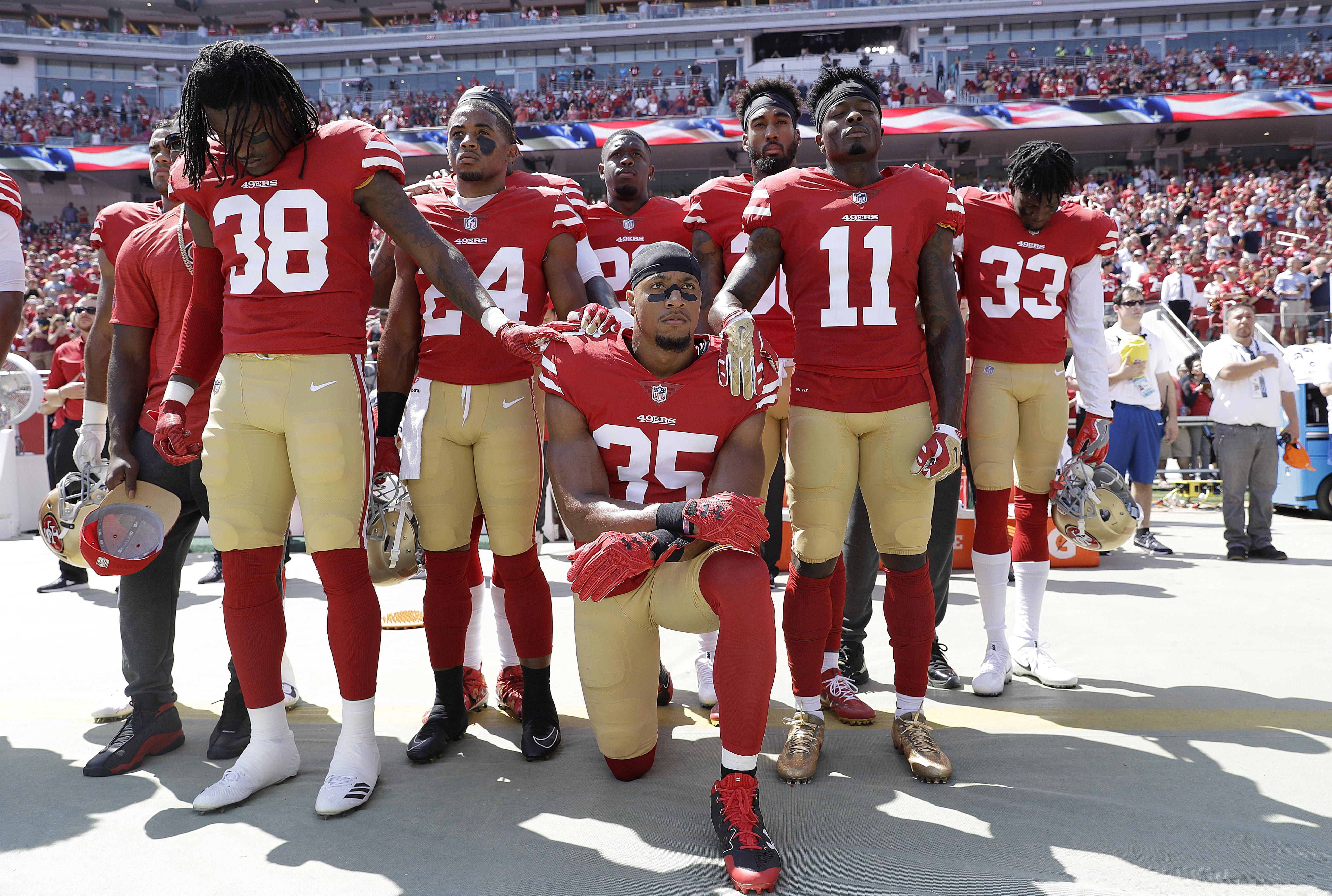 Reid had been a free agent for six months since leaving the San Francisco 49ers