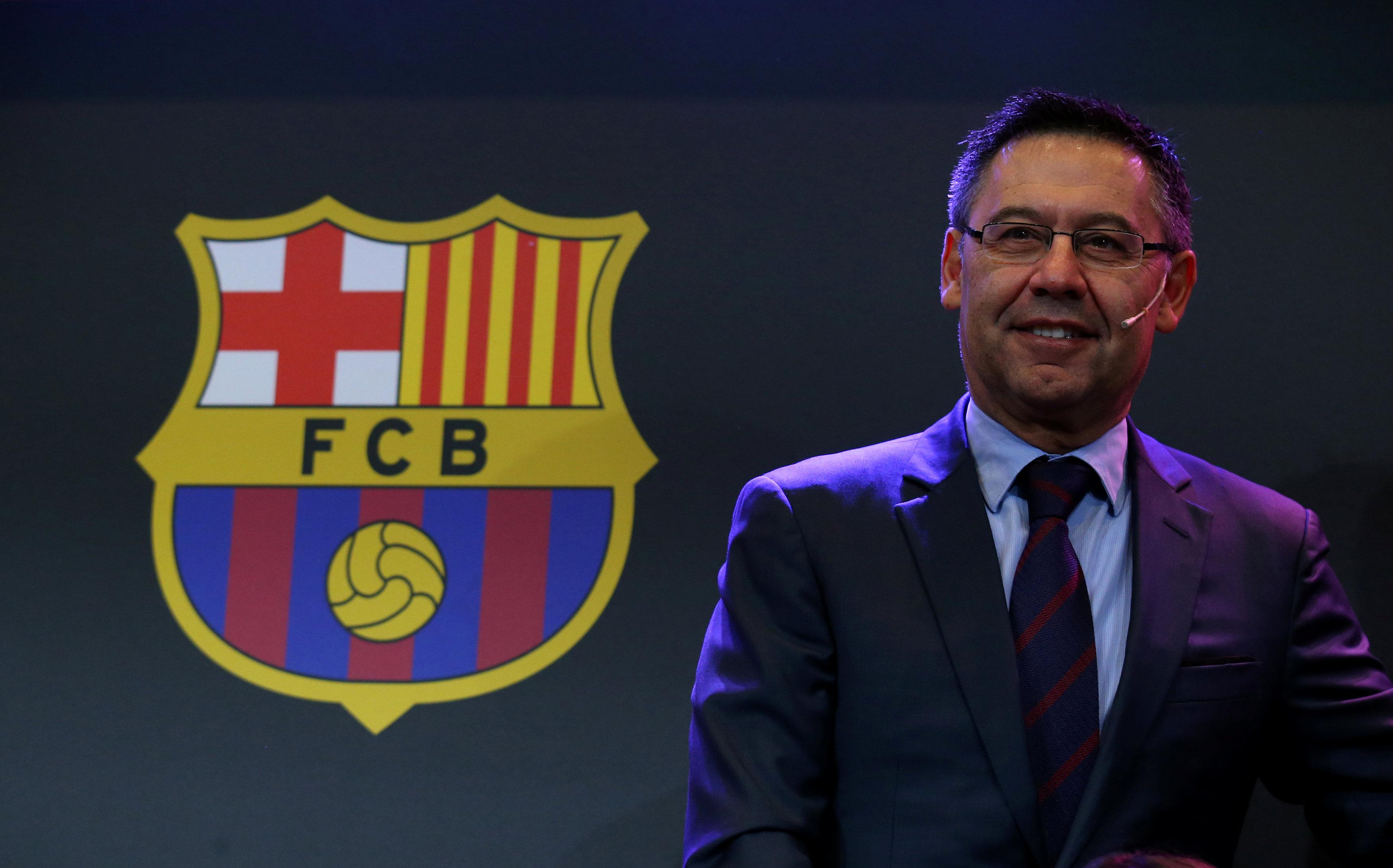 Barca president Josep Maria Bartomeu is to oversee a first - rugby league taking place in the Nou Camp