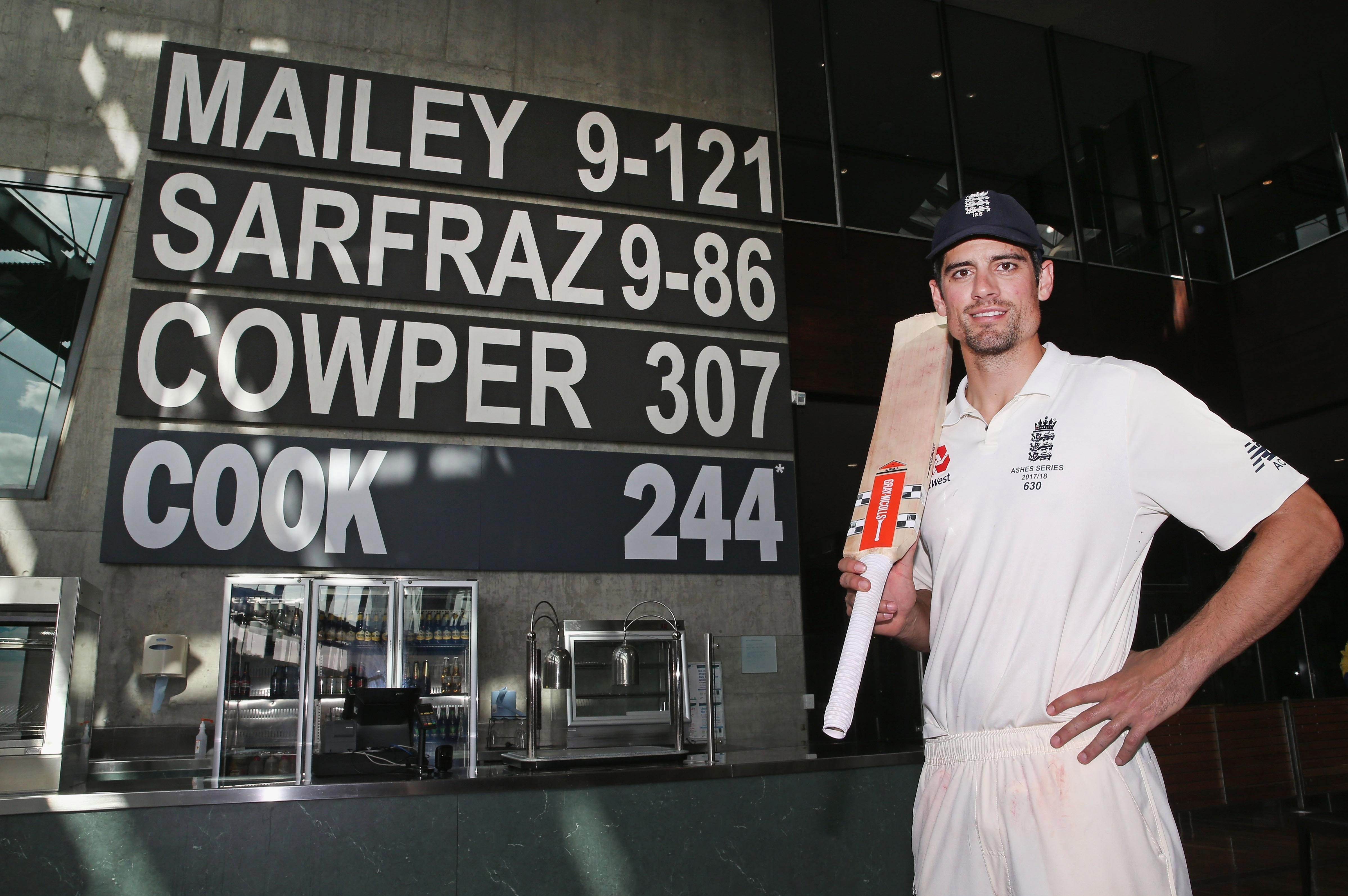 Alastair Cook will retire as one of Englands all-time best-ever