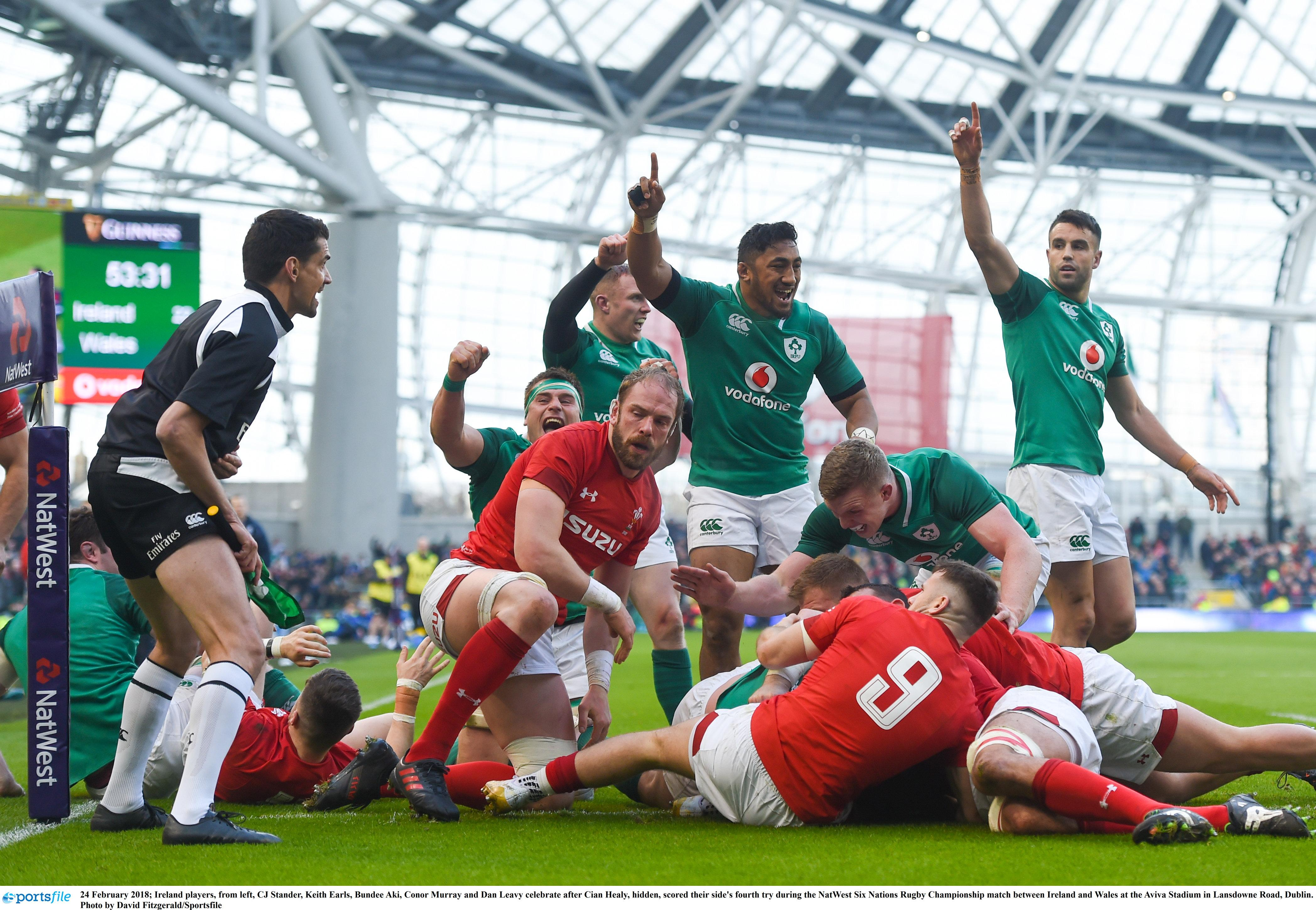 Ireland look top dogs but Wales are not far behind