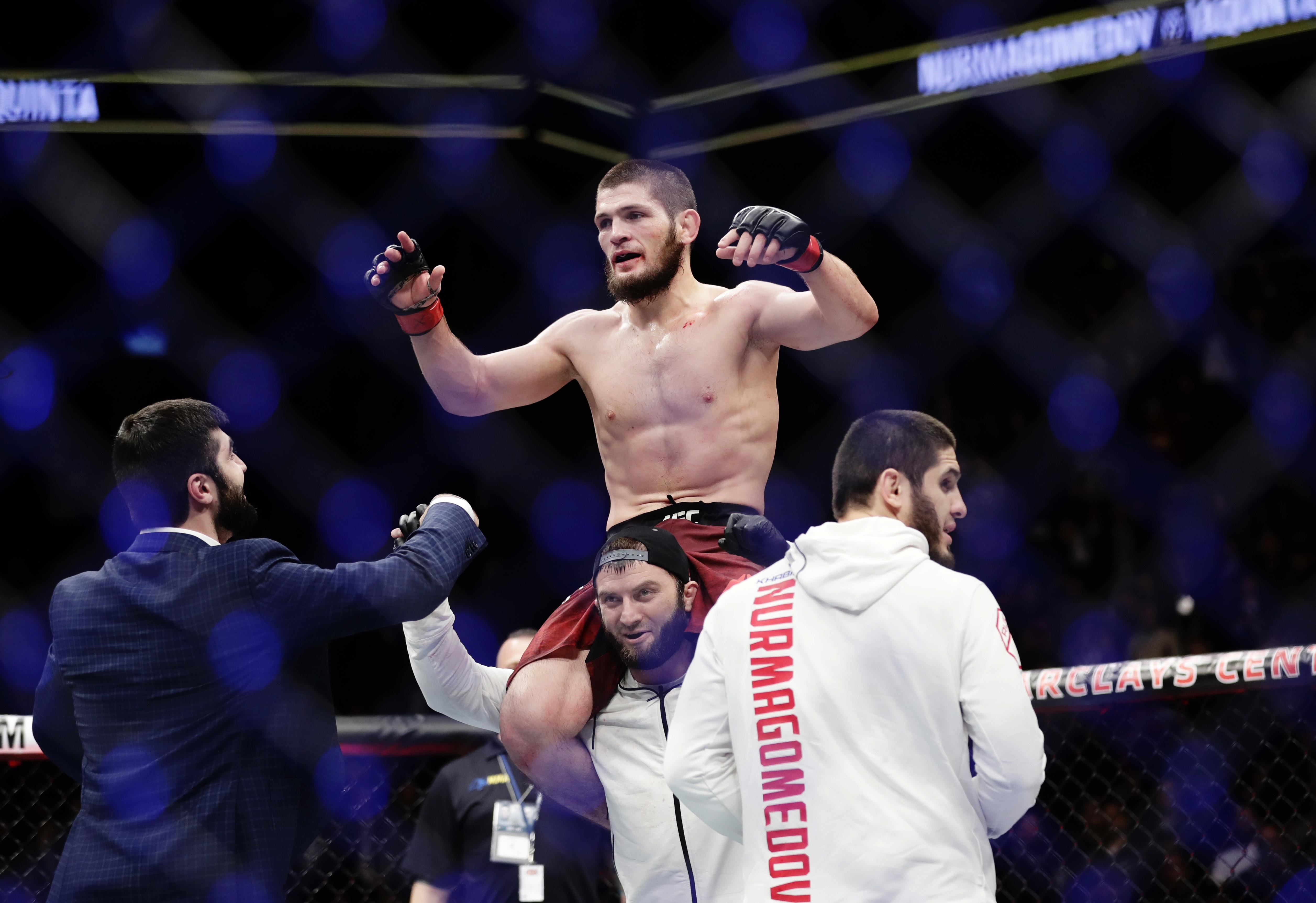 Khabib Nurmagomedov is trying not to get involved in the war of words