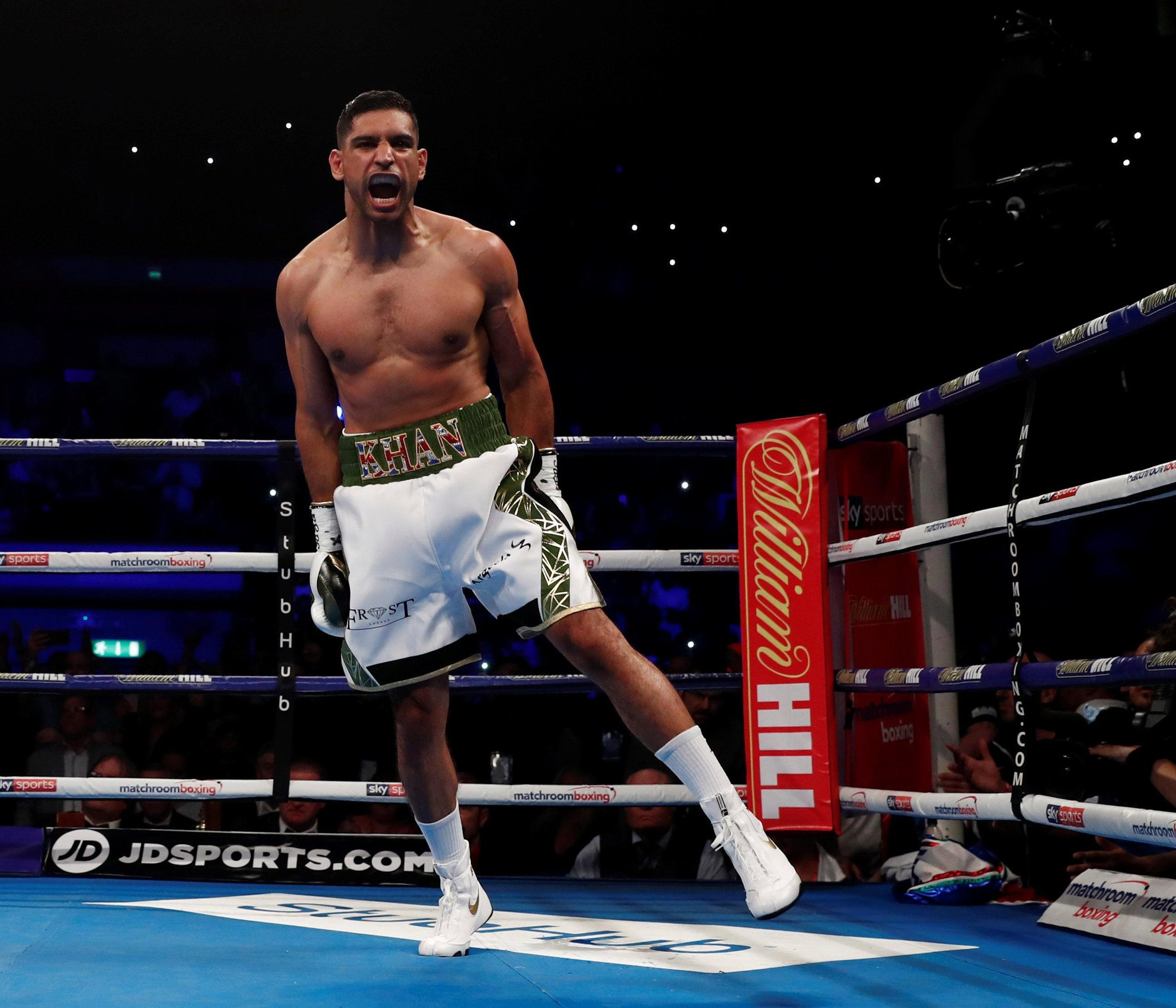 Amir Khan has been warned by Samuel Vargas he will be knocked out and suffer his fifth defeat