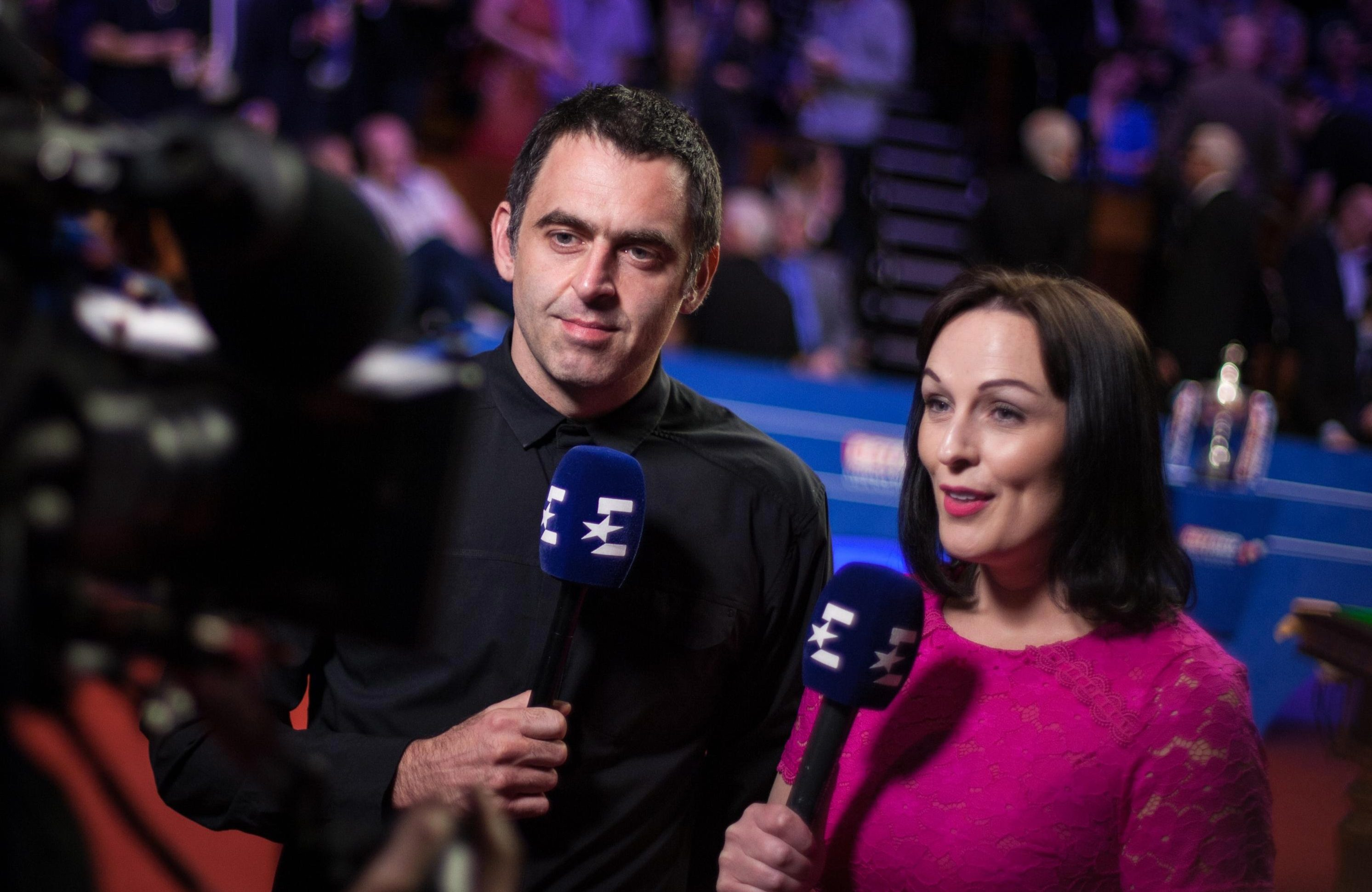 Ronnie believes female umpires could be better off sticking to female sports as they understand each other