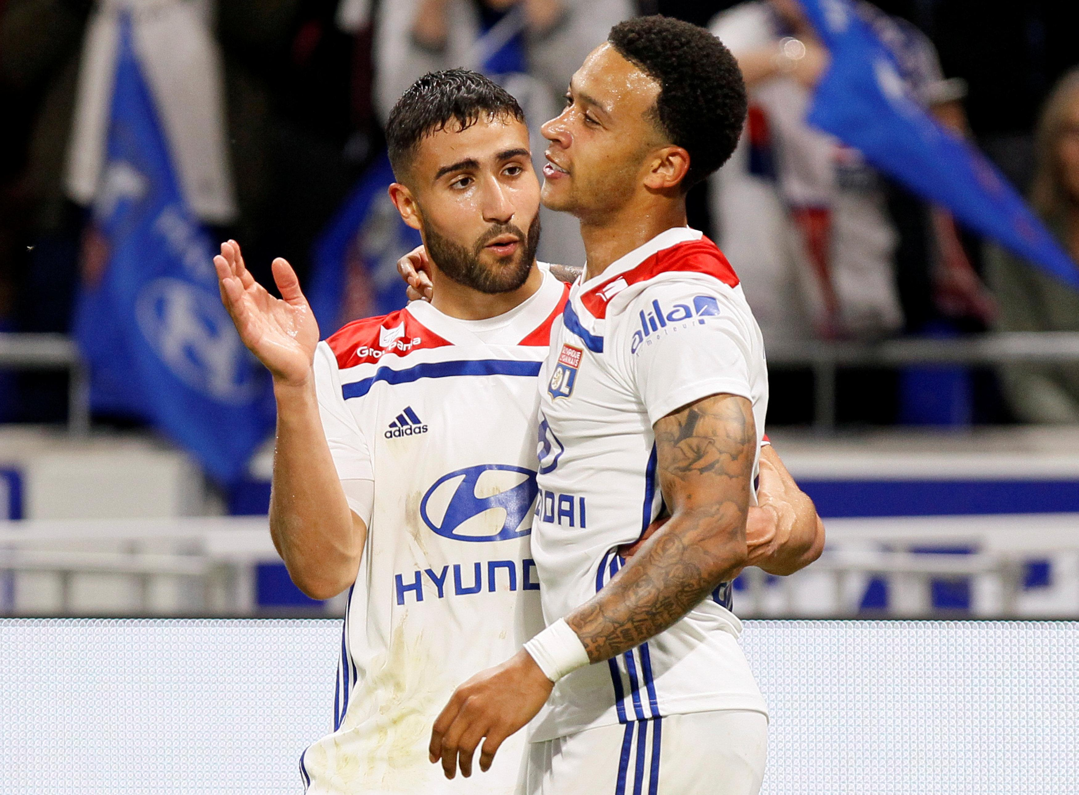 Memphis Depay moved to Lyon last year and has formed a deadly partnership with Nabil Fekir