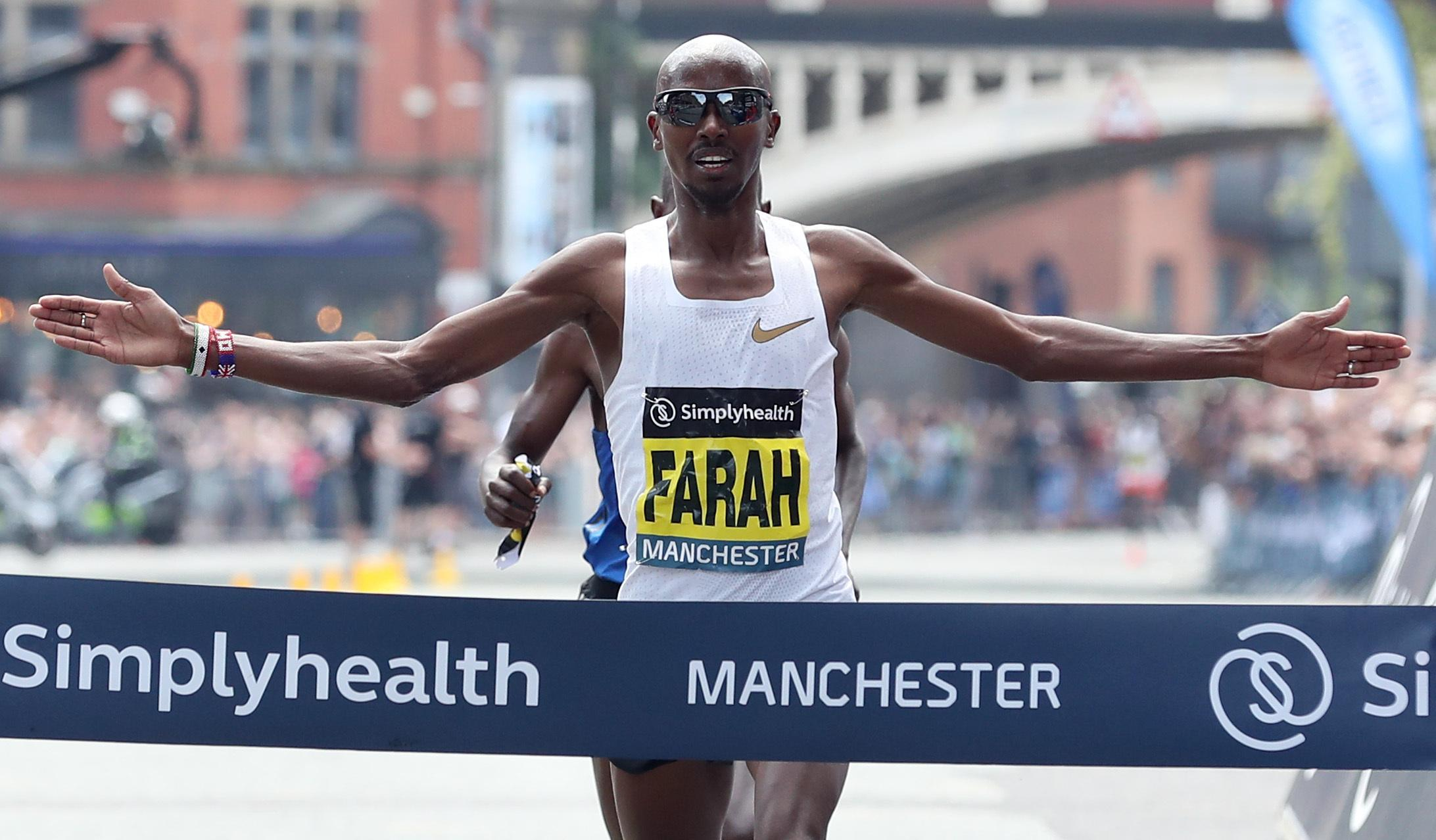 Mo Farah will be hoping to win his fifth consecutive title