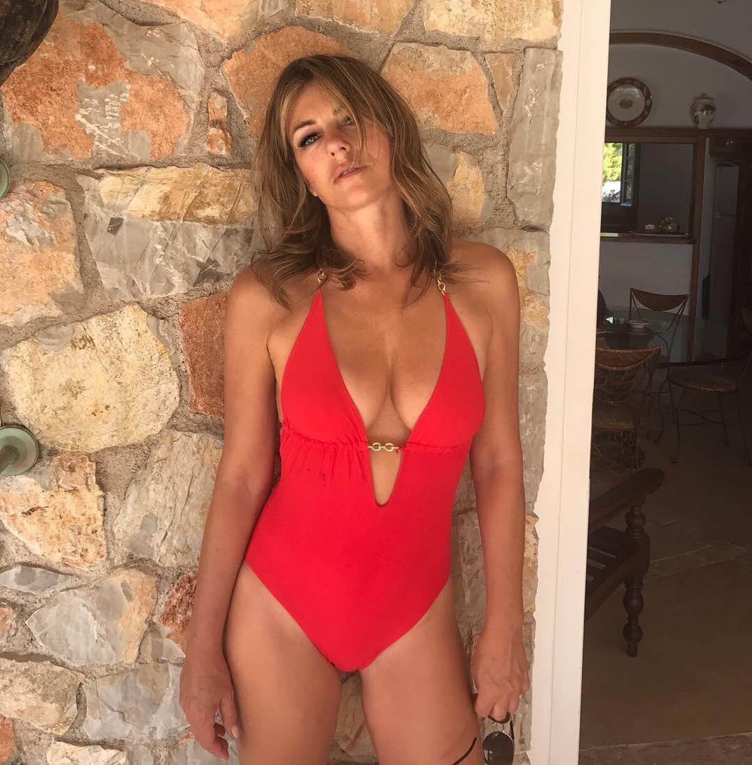 Liz Hurley, 53, dated English actor and film director Hugh Grant