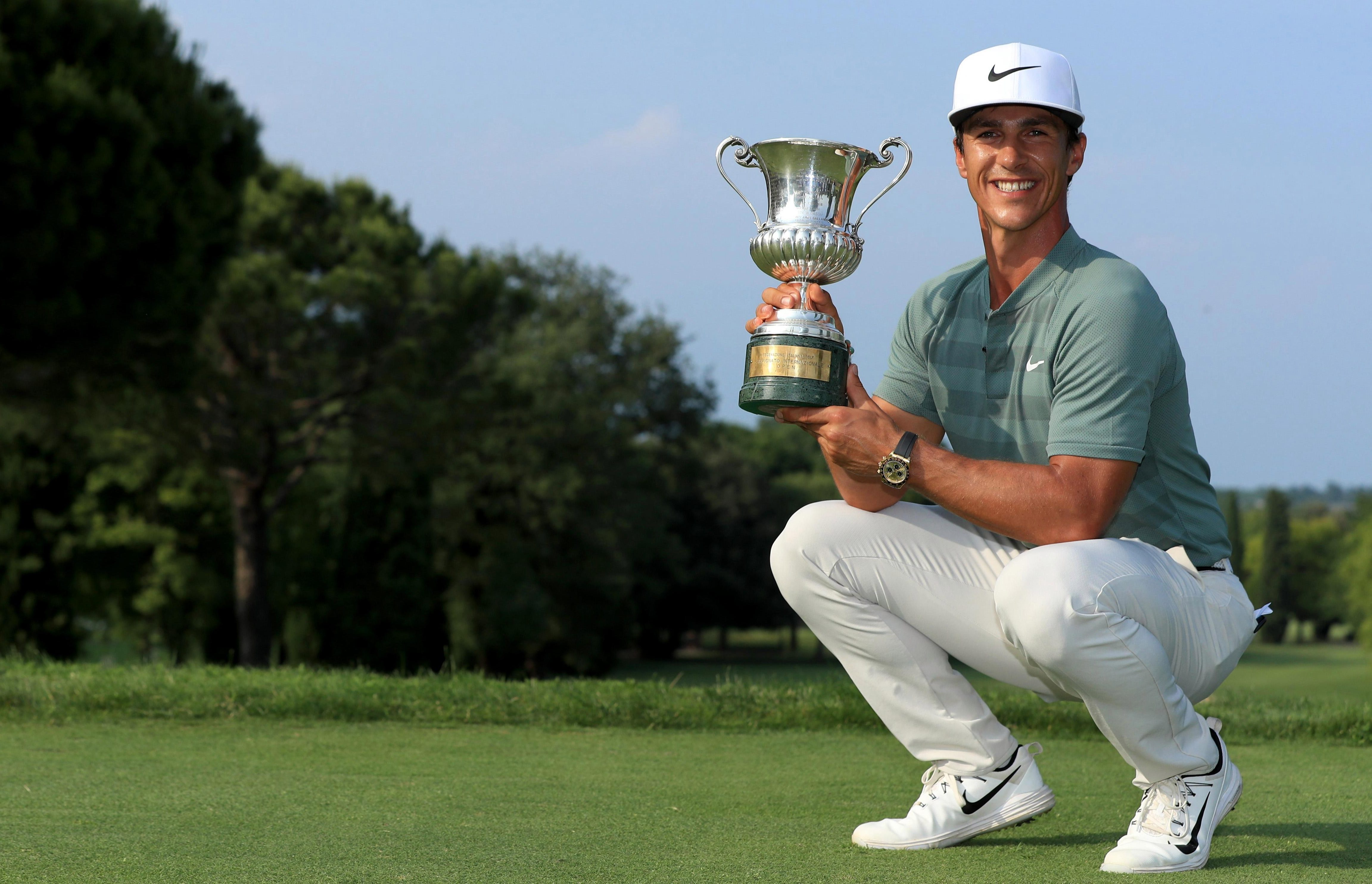 The most recent of Olesen's five European Tour wins came at this years Italian Open