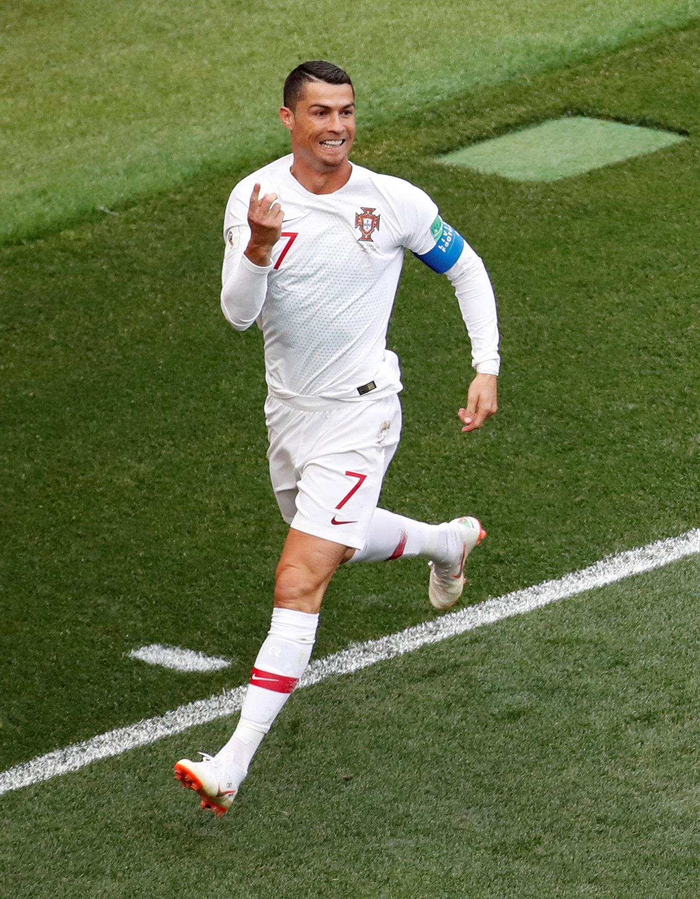 Cristiano Ronaldo's Portugal are in a group with Italy and Poland