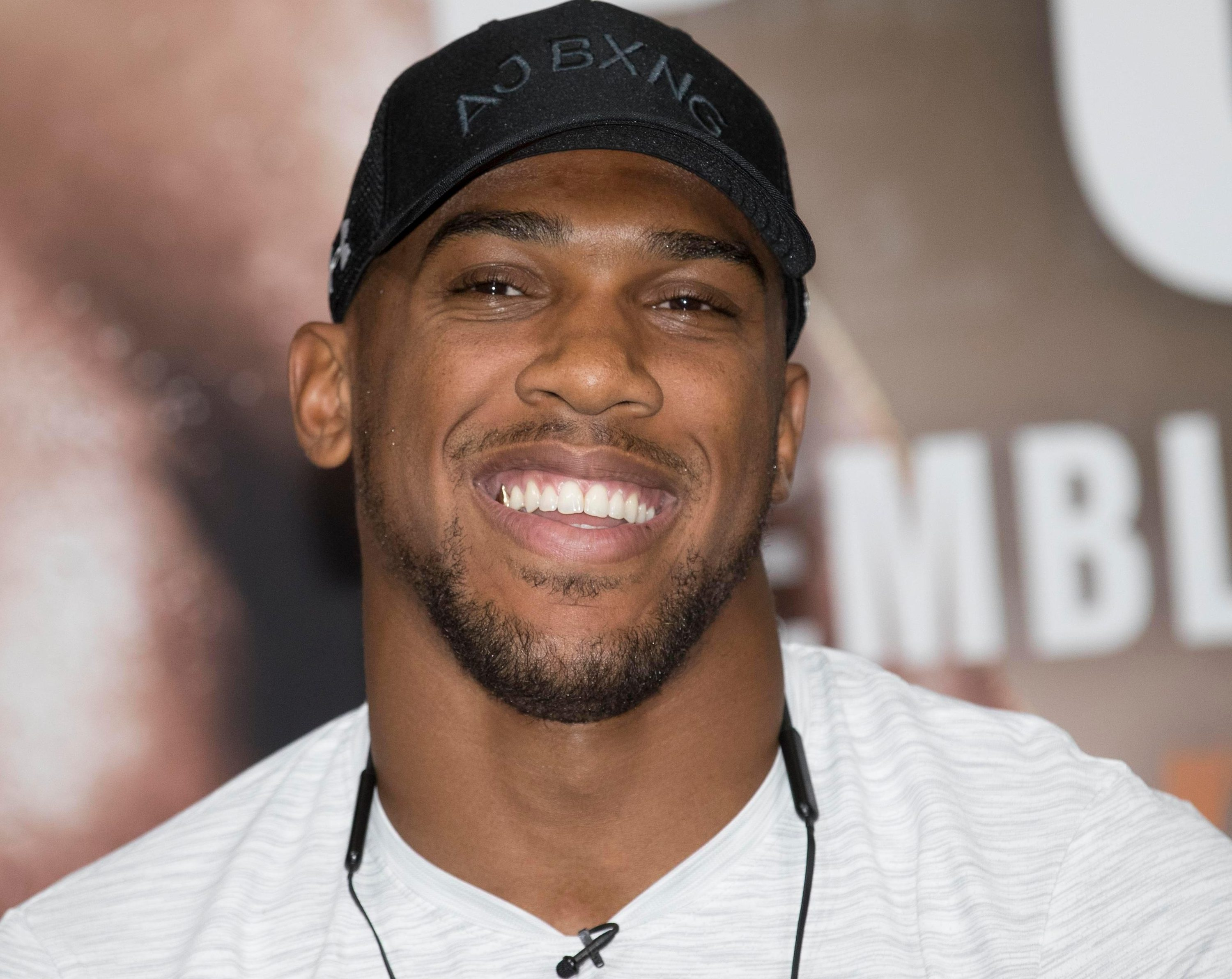Anthony Joshua is calm and relaxed despite the huge night he has planned on September 22