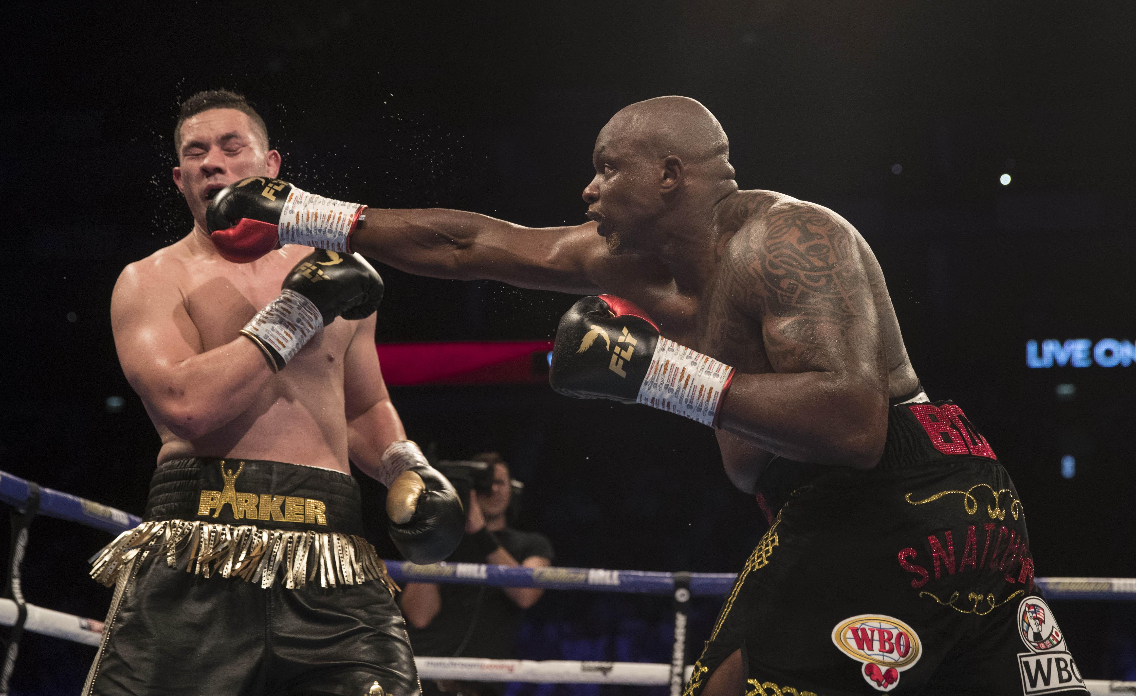Dillian Whyte beat Joseph Parker in July to move himself closer to a shot at the world title