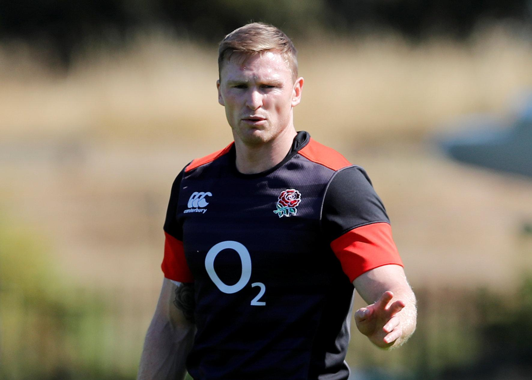 However, Chris Ashton is set for a reprieve from Jones