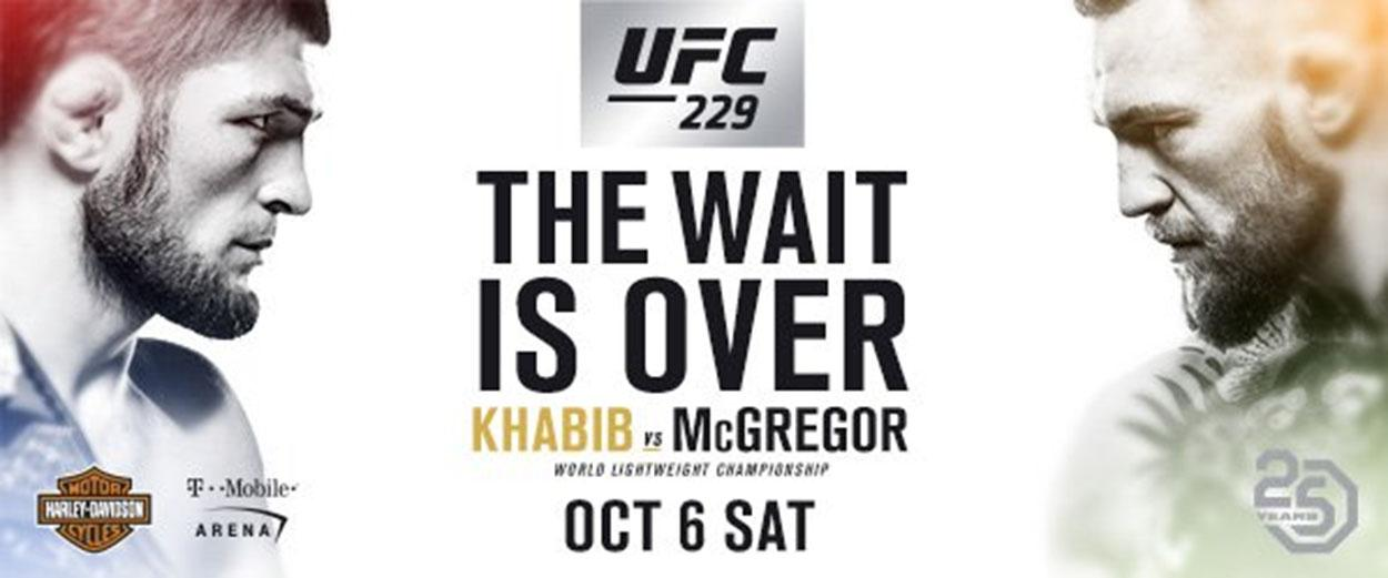Conor McGregor makes his return to the octogan against Khabib Nurmagomedov