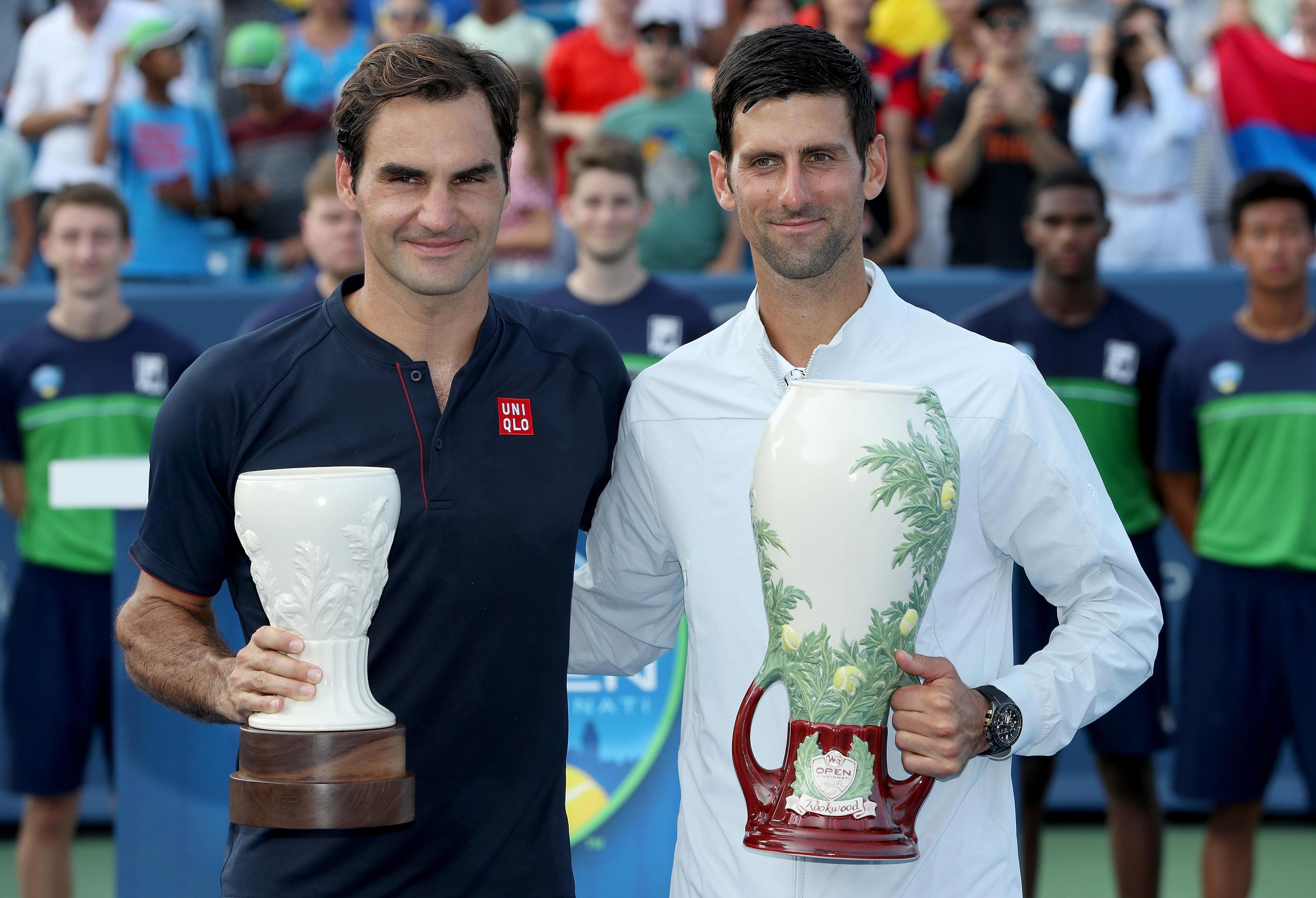 Djokovic and Federer have met 46 times, most recently in the Cincinnati Open final last month