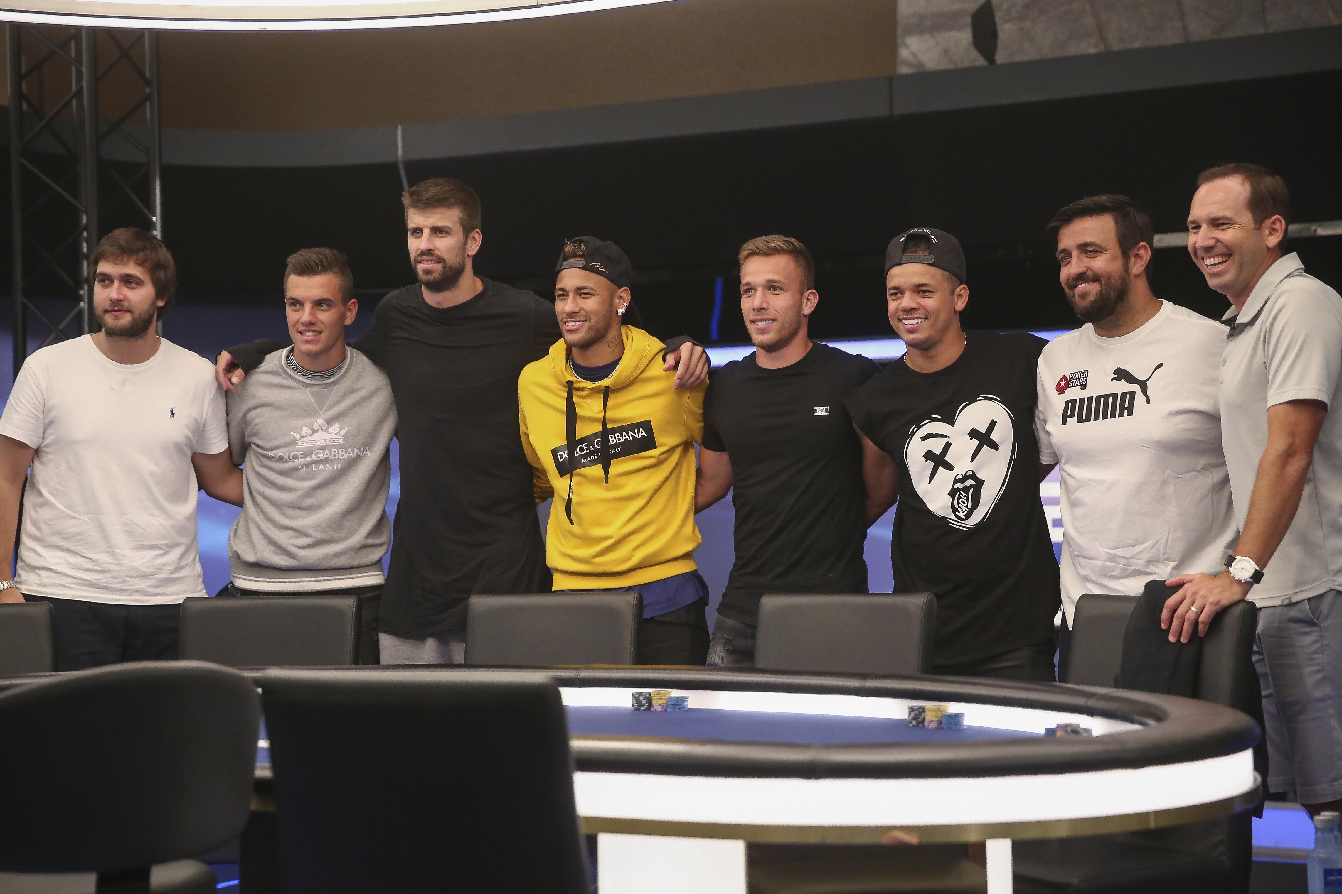 Garcia took part in a celebrity charity poker tournament to help raise funds for his foundation