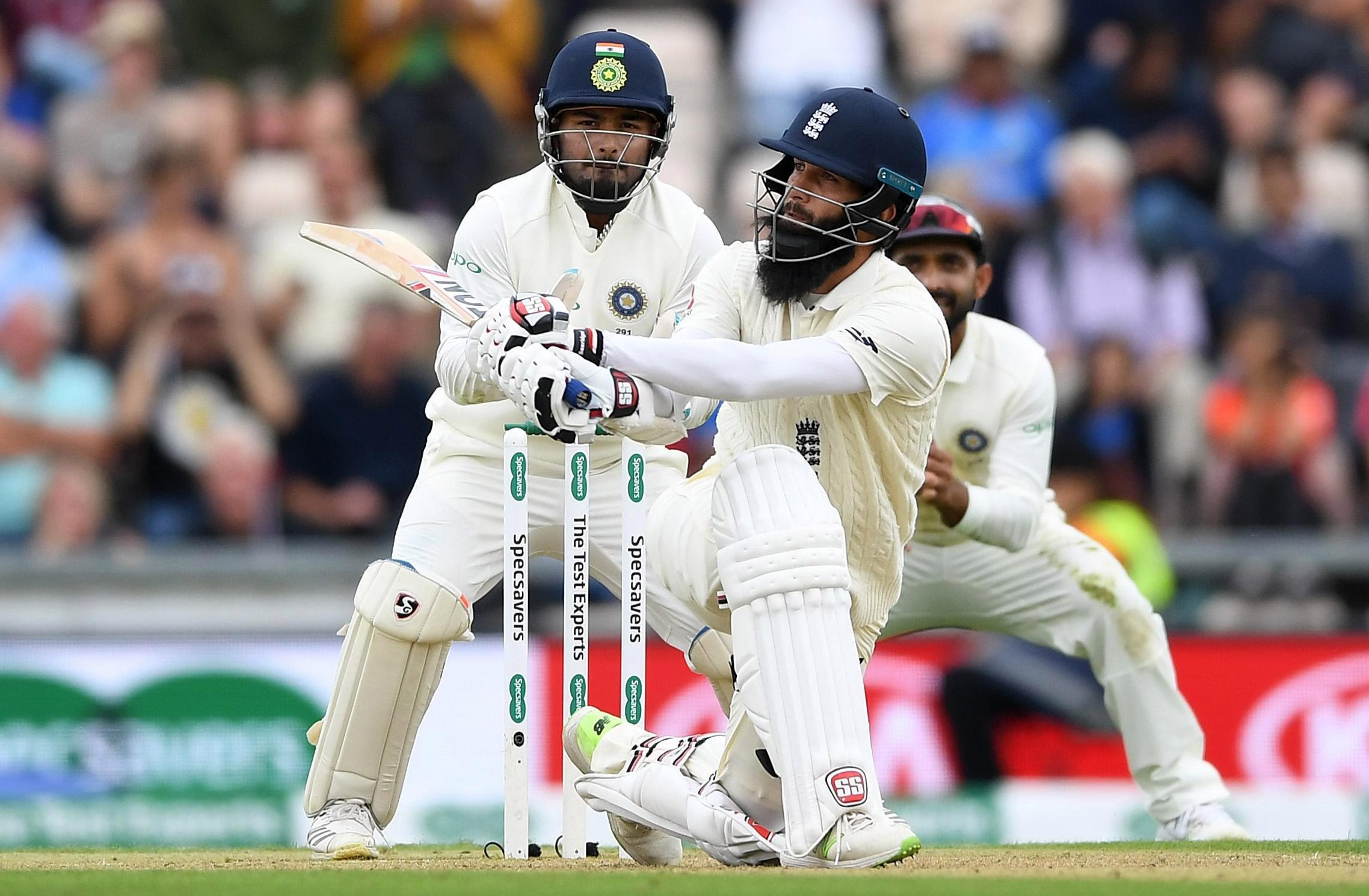 Joe Root asked Moeen to bat at 3 in the second innings at the Ageas Bowl