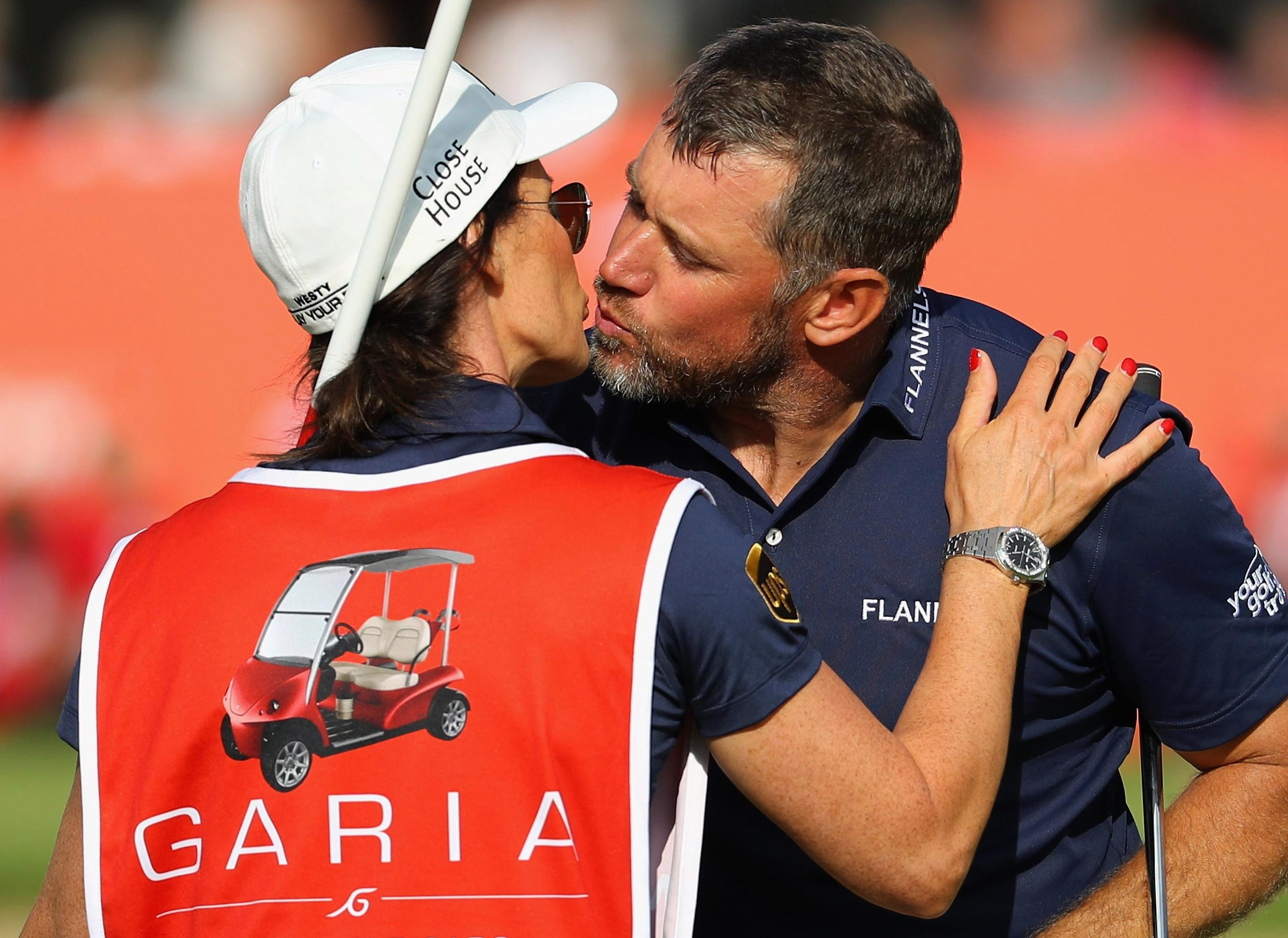 Westwood gave his usual caddy the week off in Denmark
