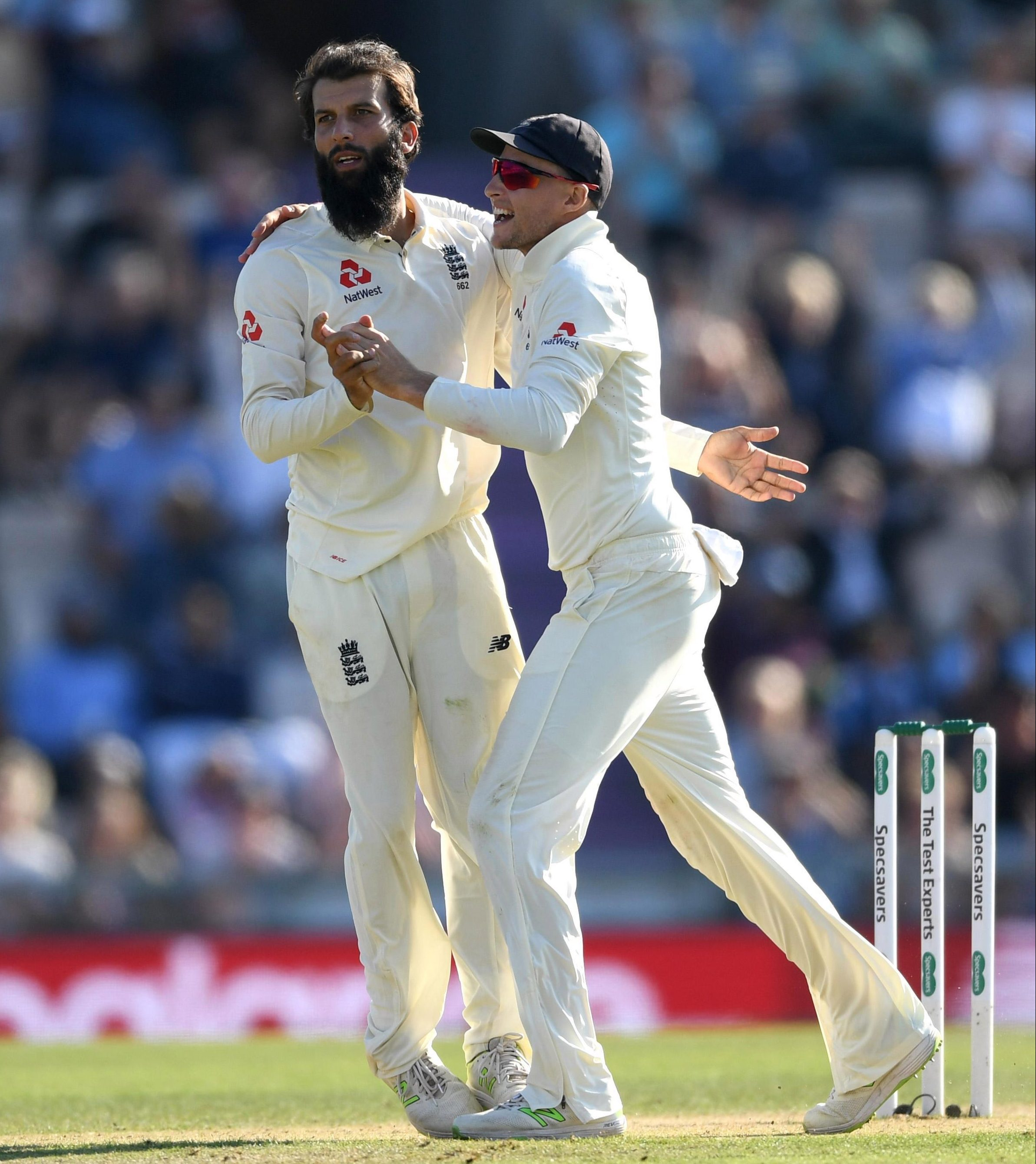 Moeen Ali routed India's batting with nine wickets in the Fourth Test