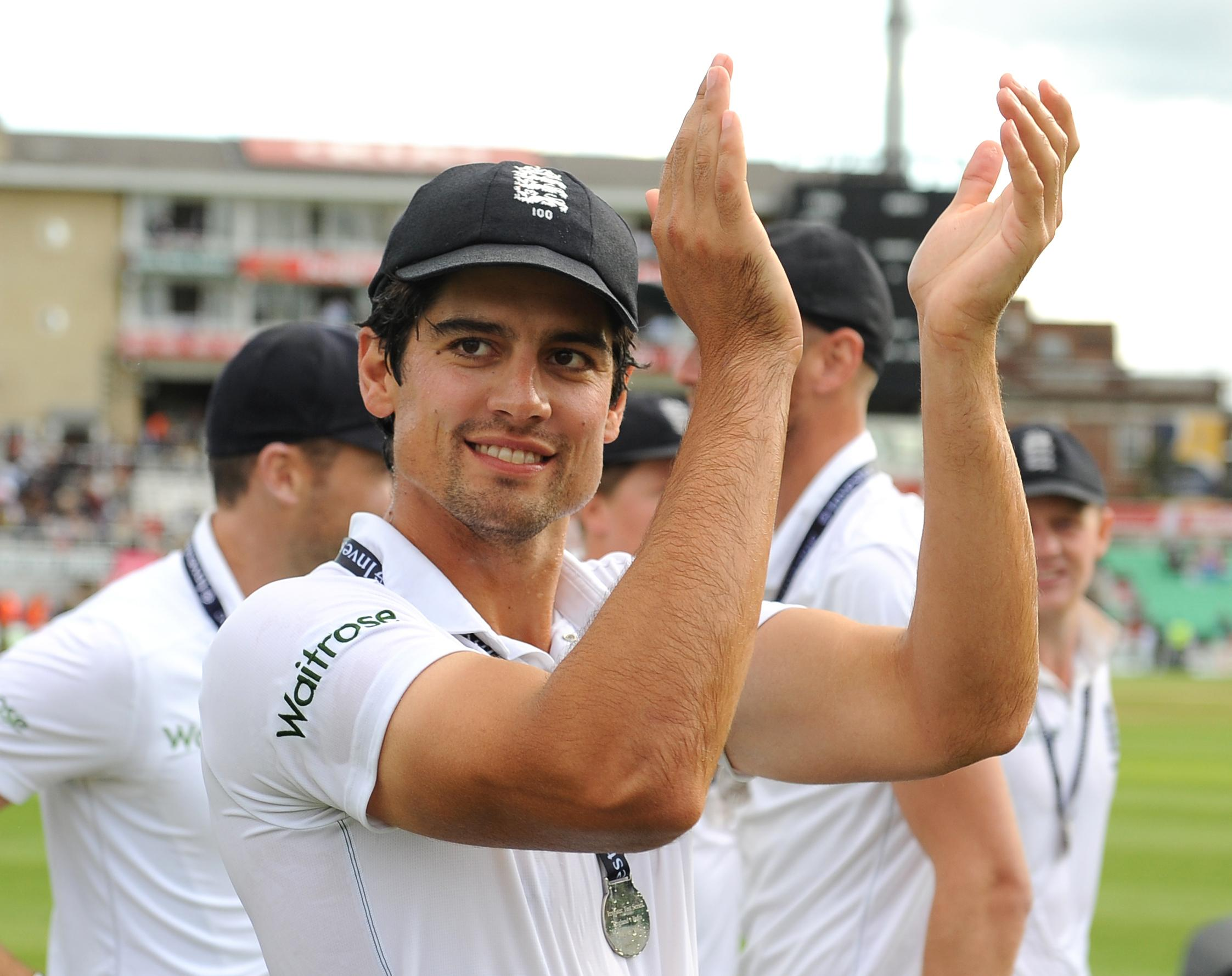 Alastair Cook has announced he will bow out after a 161st and final Test at The Oval