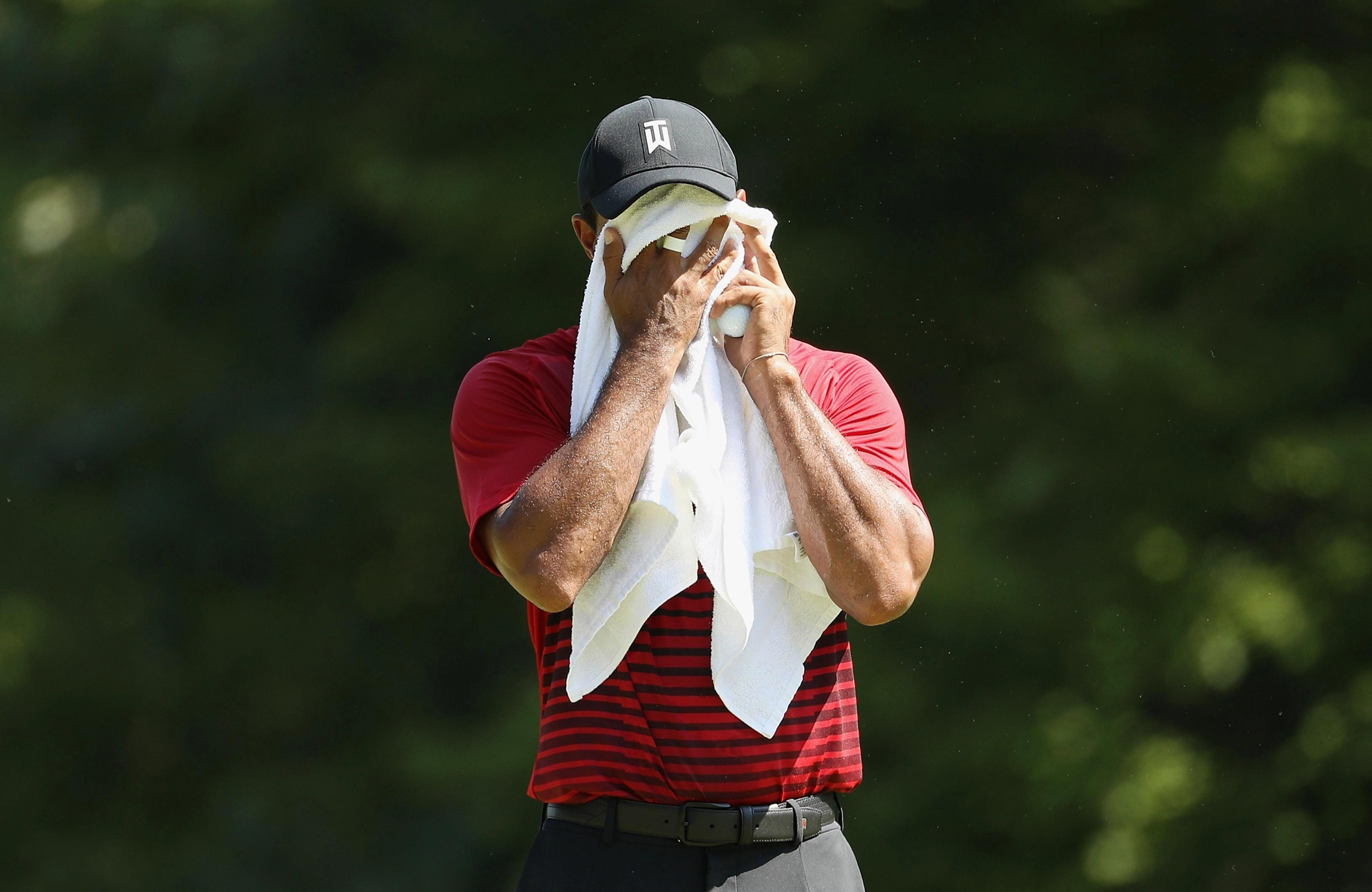 Tiger Woods was off the pace but is a shoe-in for a wildcard