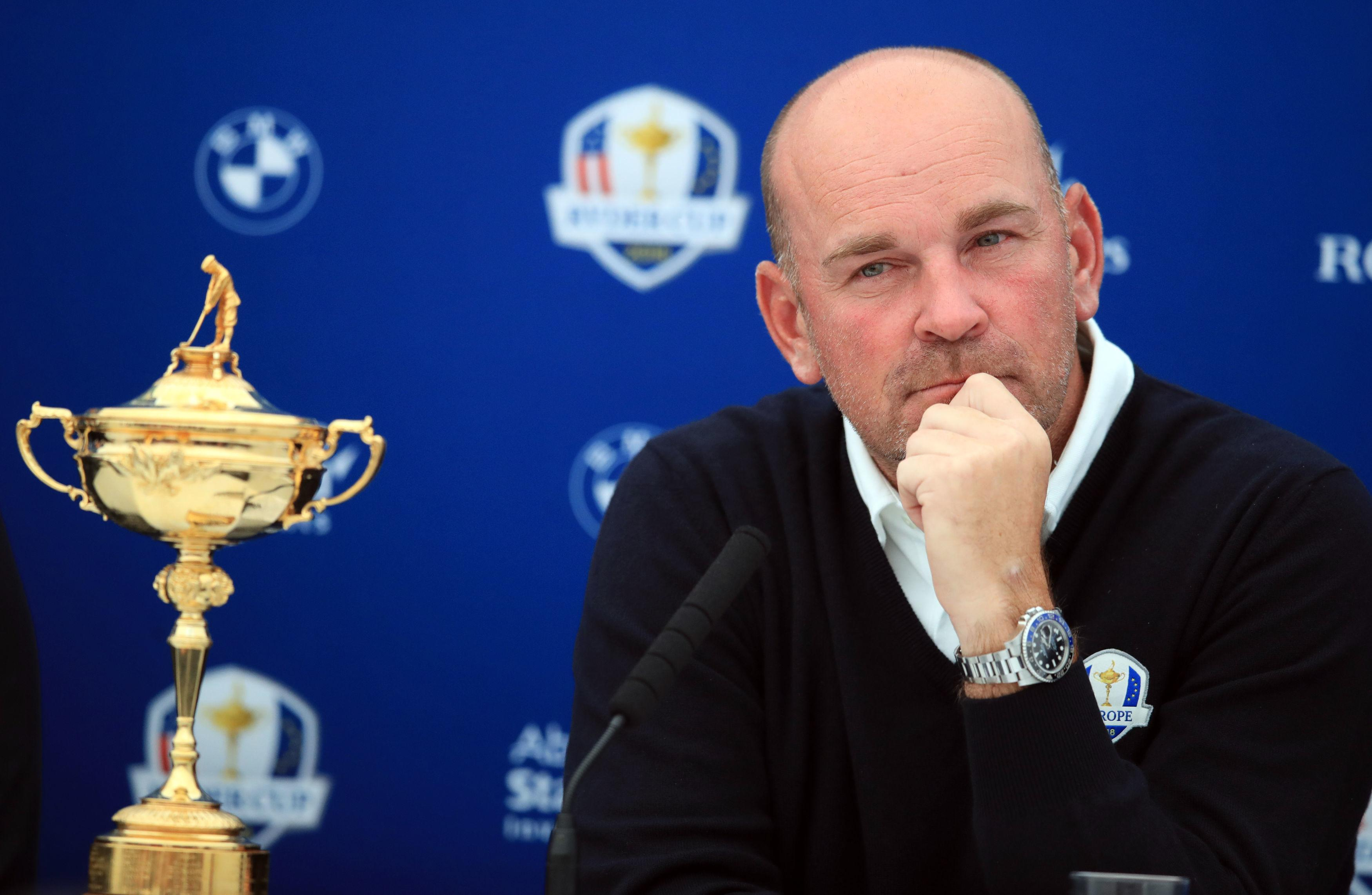 Thomas Bjorn has been agonising over his four picks
