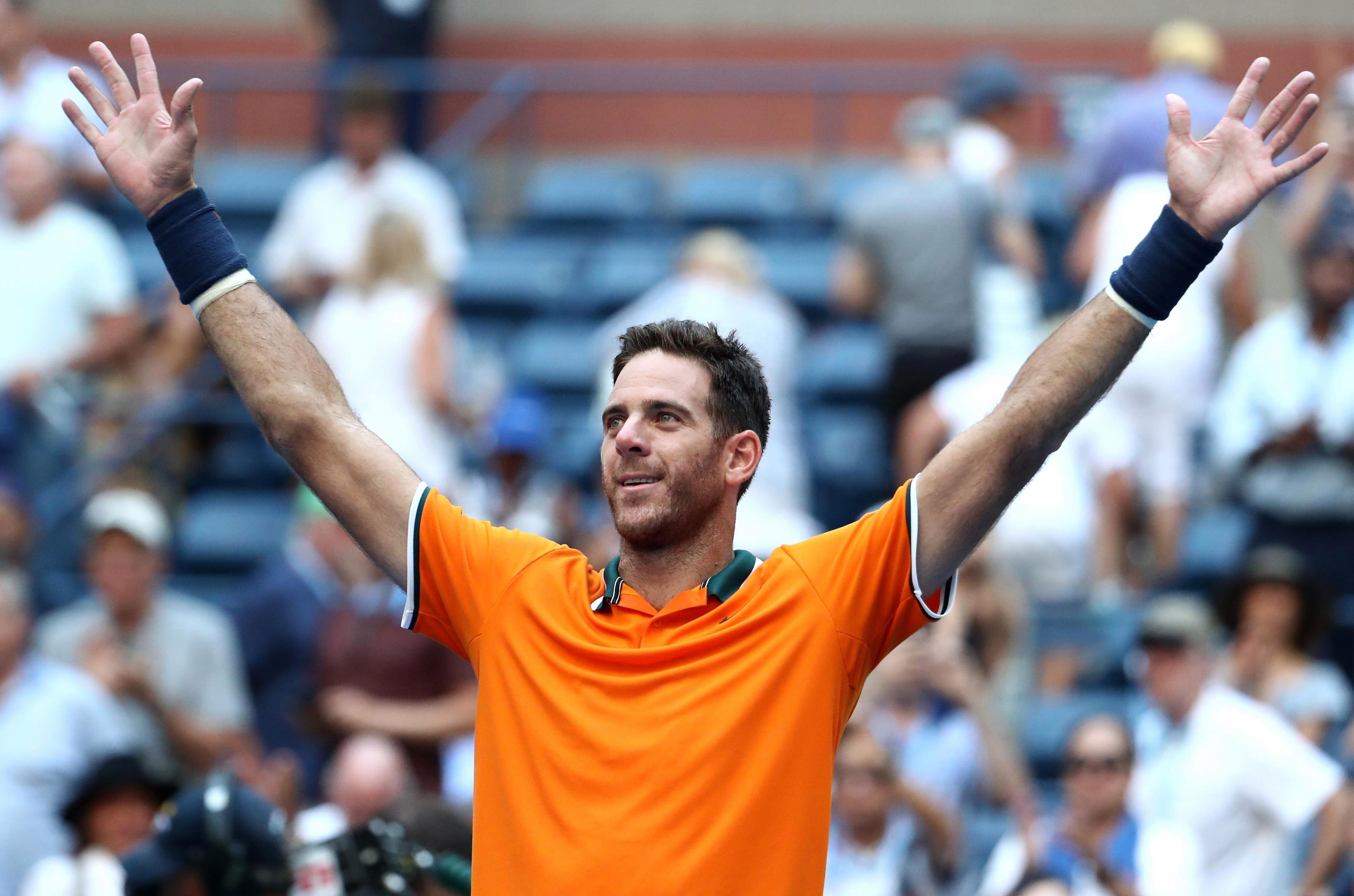Argentina's Juan Martin del Potro has won just one Grand Slam, the 2009 US Open