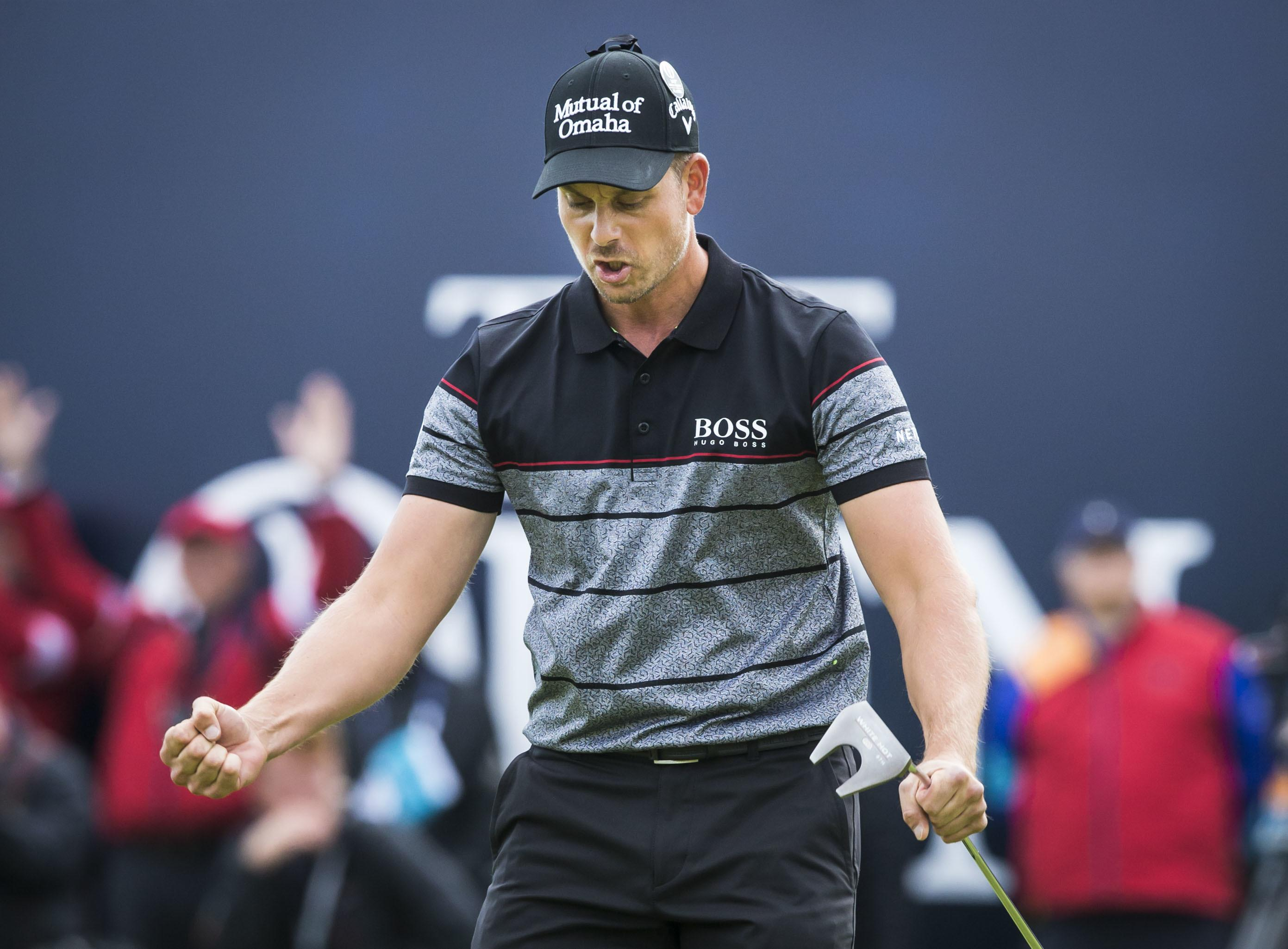Henrik Stenson has overcome an elbow injury to get the call