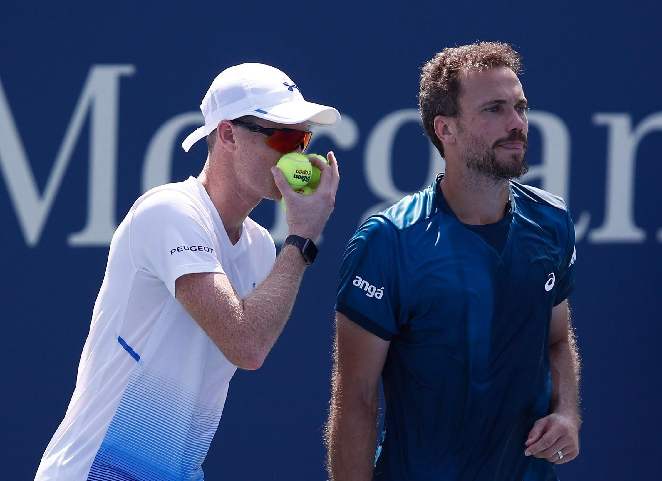 Jamie Murray and Bruno Soares are out of the US Open