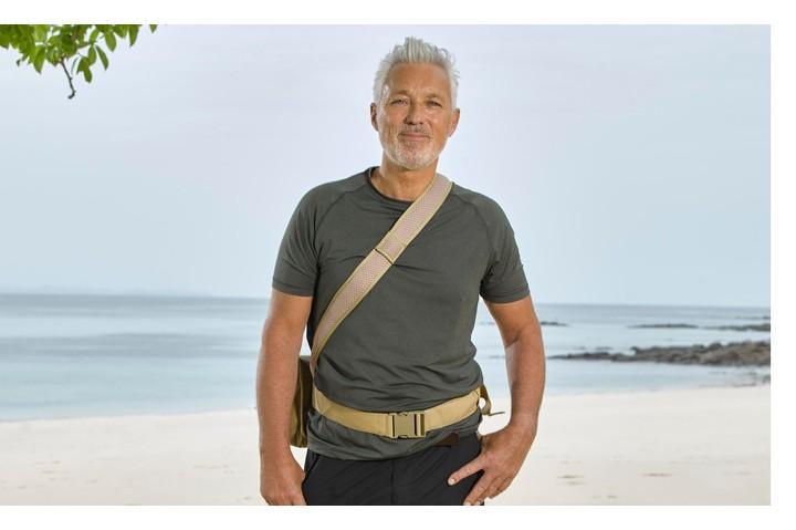Martin Kemp looks ready for the Celebrity Island with Bear Grylls