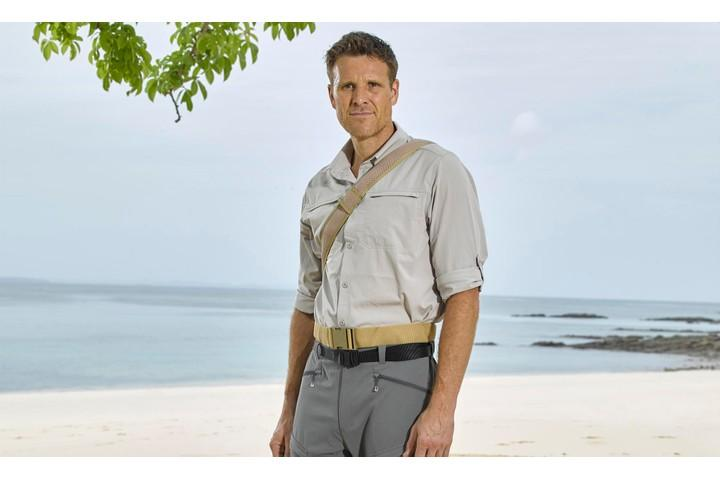 Will James' sporting prowess help him succeed with Island life?