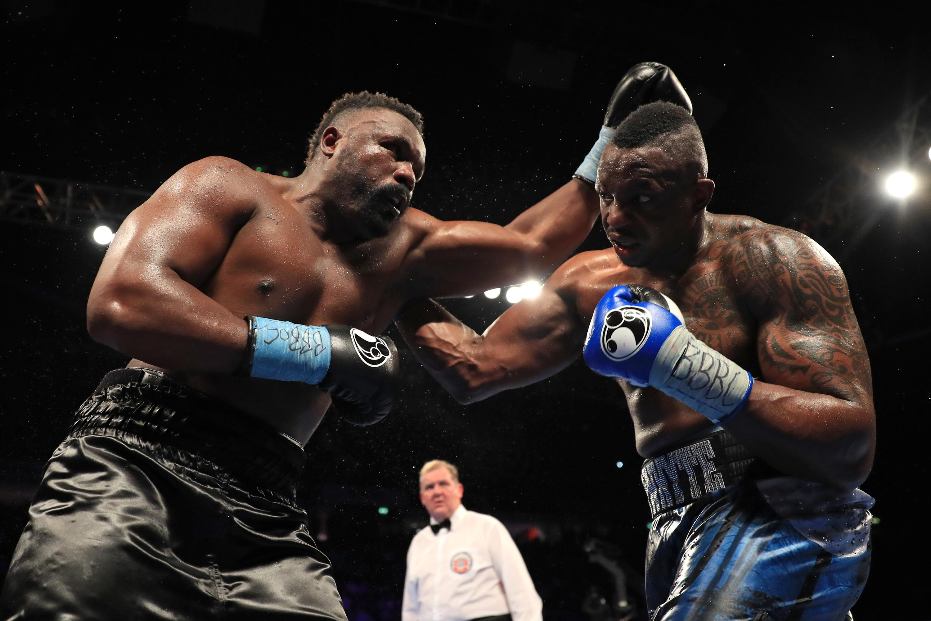 Dillian Whyte beat Dereck Chisora in December on a split decision in December