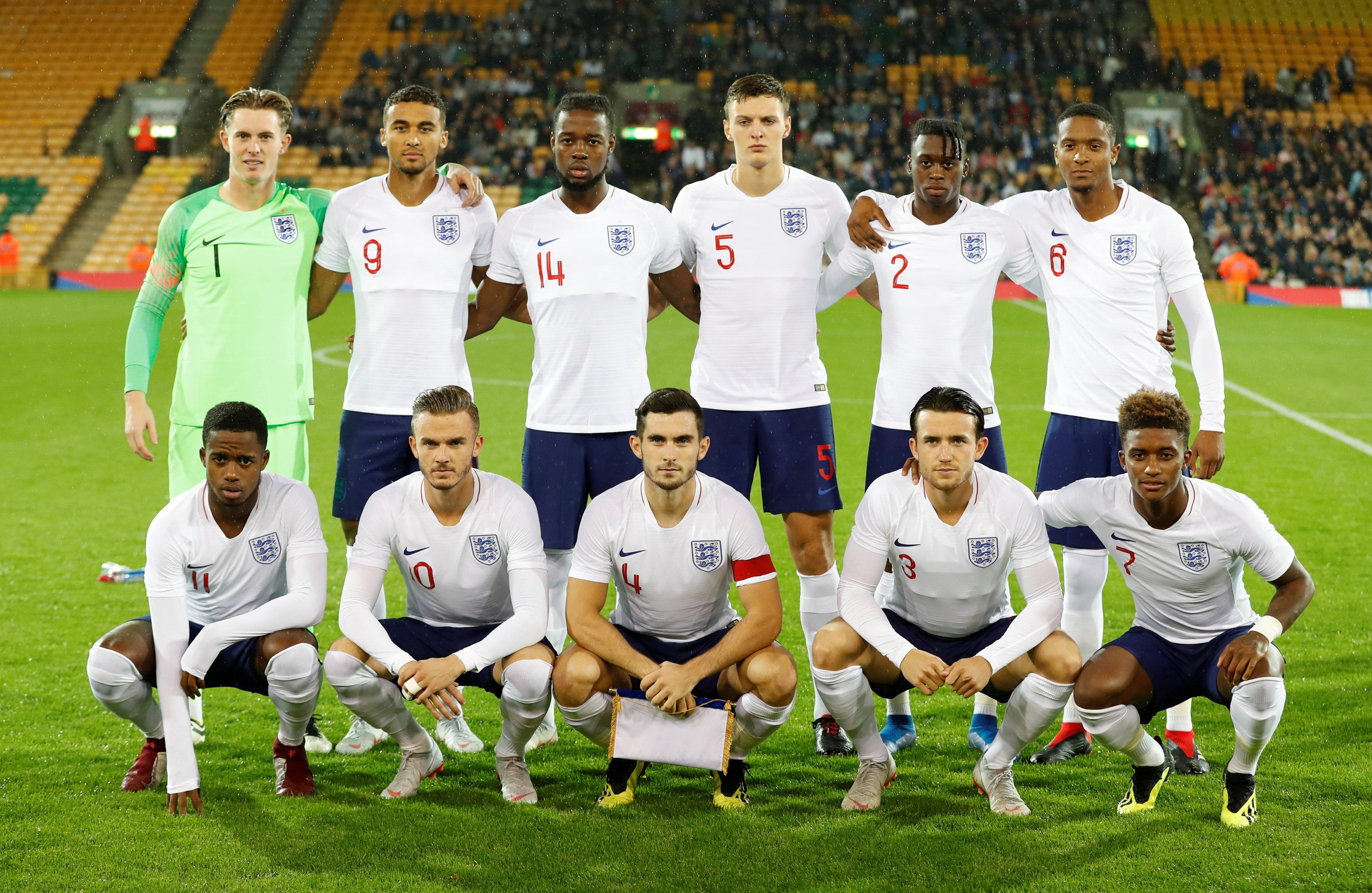 England's Under-21 side remain on course to qualify for the European Championship's next summer