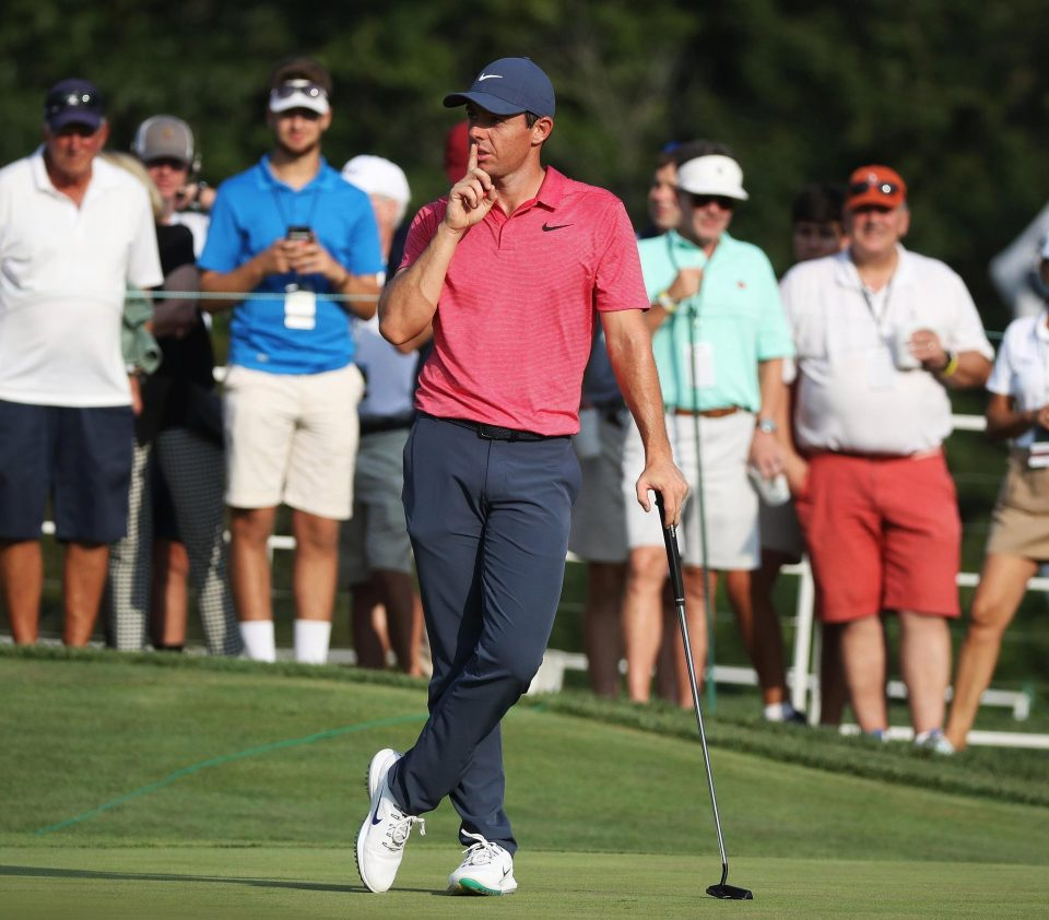 Rory McIlroy was gutted not to shoot 59