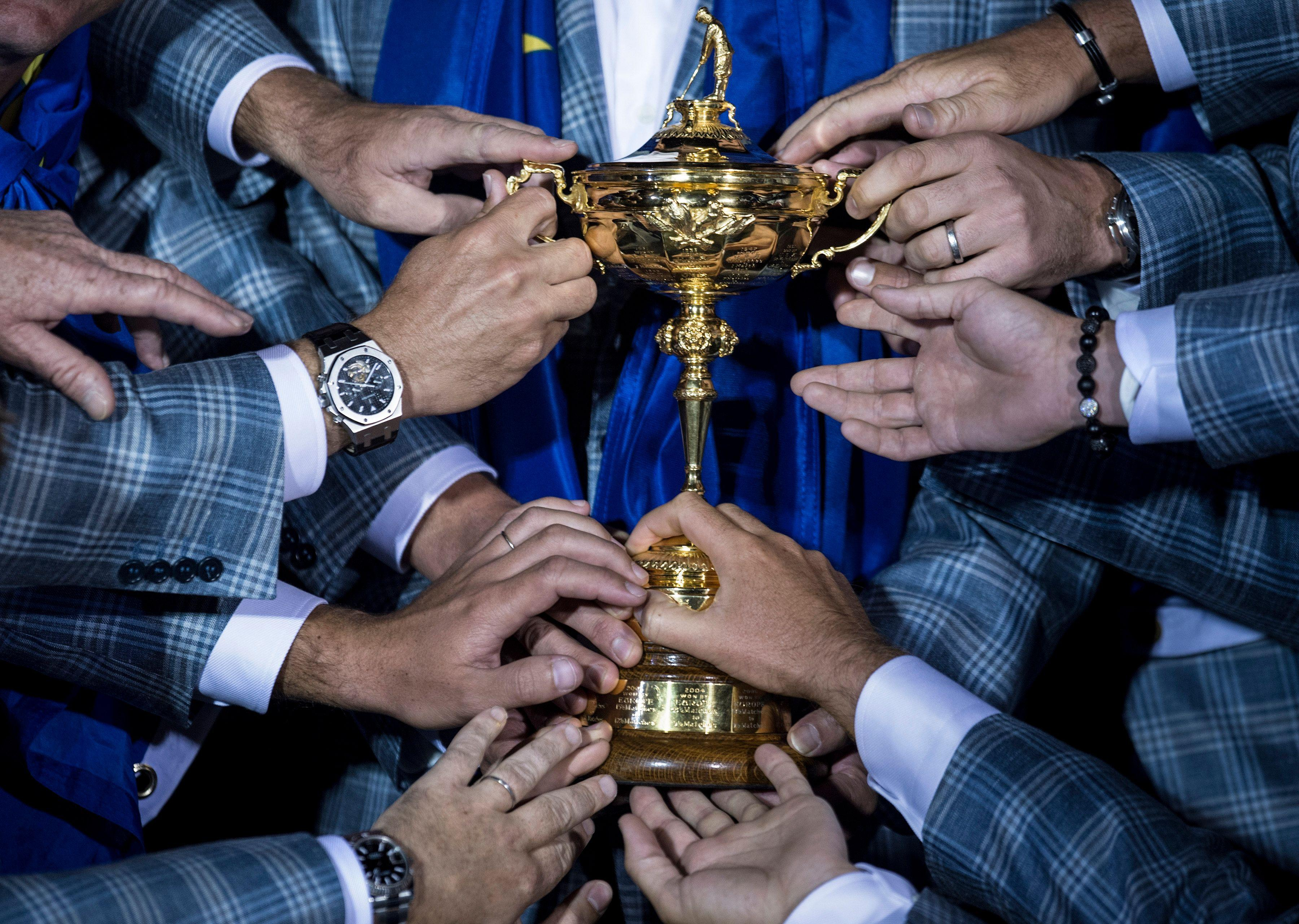 Teams play in fourballs and foursomes during the Ryder Cup