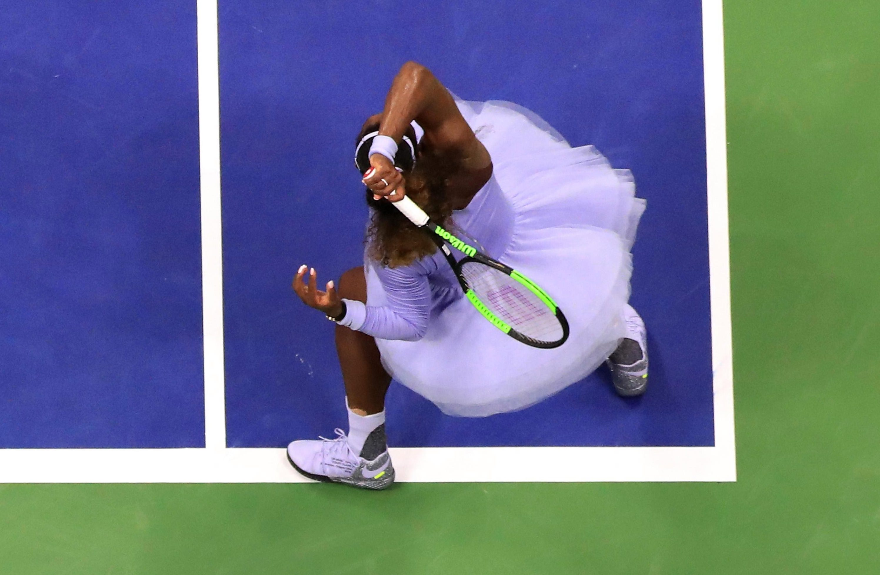 Williams is just one win away from equalling Margaret Court's all-time record of 24 Grand Slam titles