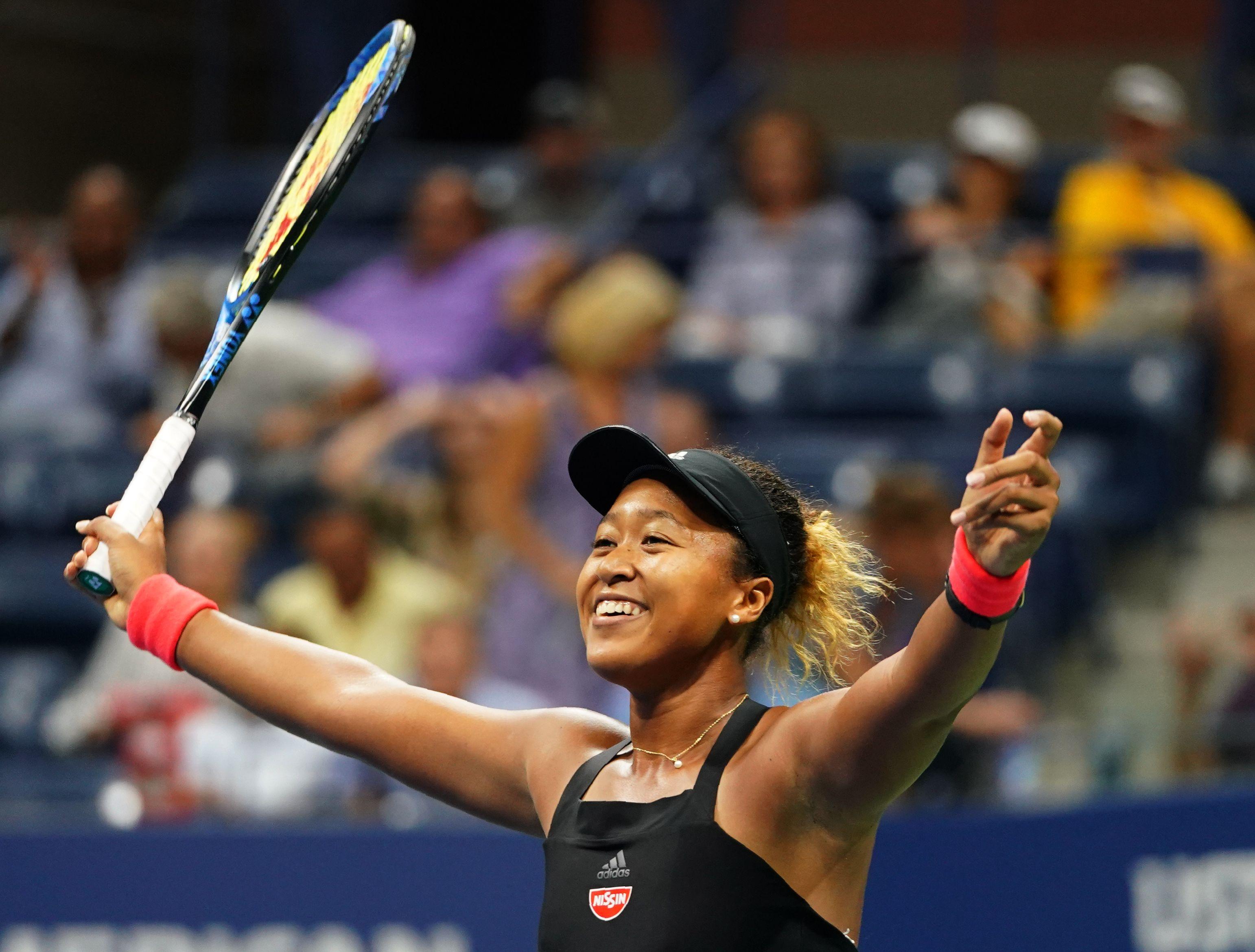 Osaka beat American 14th seed Madison Keys 6-2 6-4 to reach her first Grand Slam final